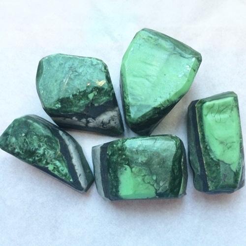 Emerald Hidden Gemstone soaps on soapqueen.com