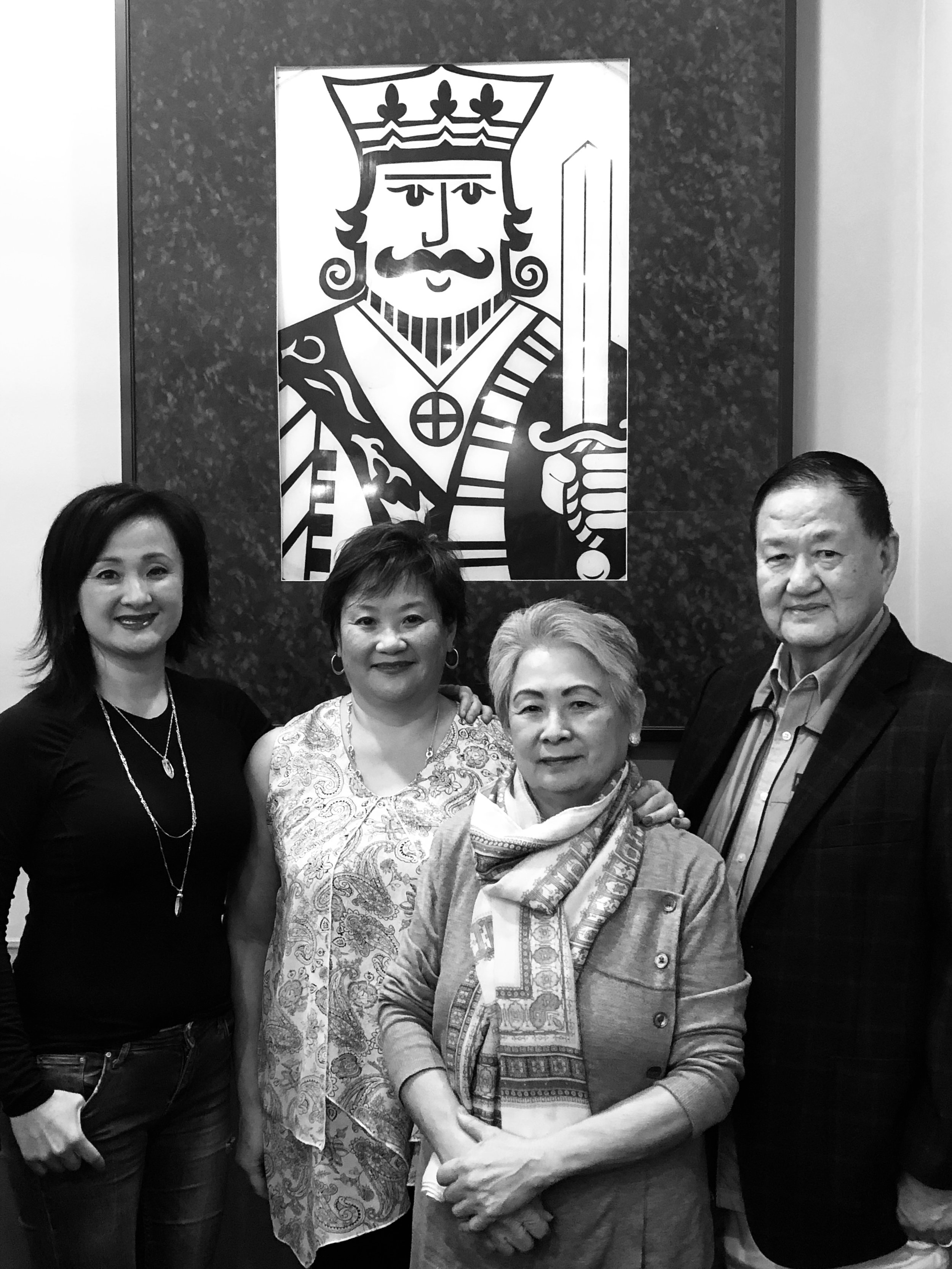 The Chuy family ~ Angela, Christina, the Queen &King, Nellie and Alfredo Chuy