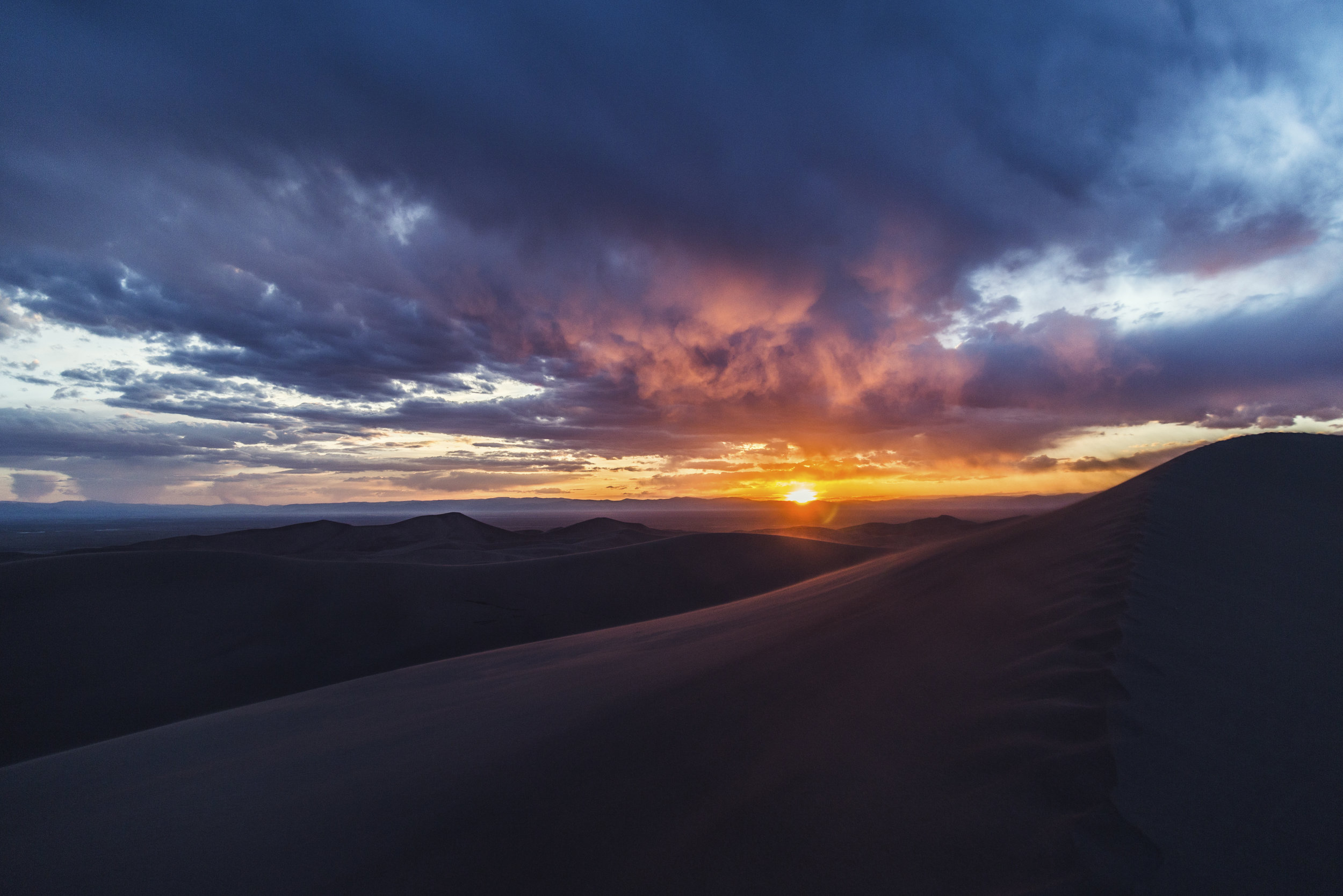 Sunset at the Dunes