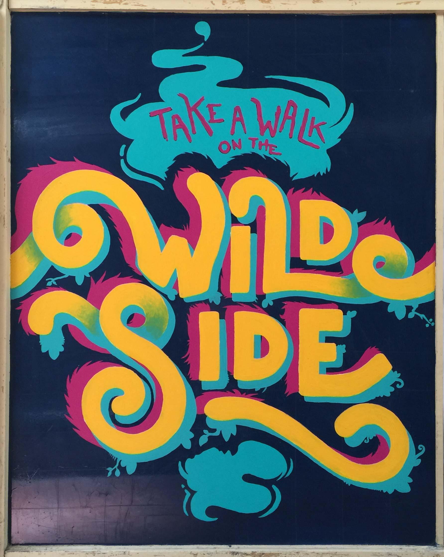 alex-allans-walk-bendigo-mural-take-a-walk-on-the-wild-side