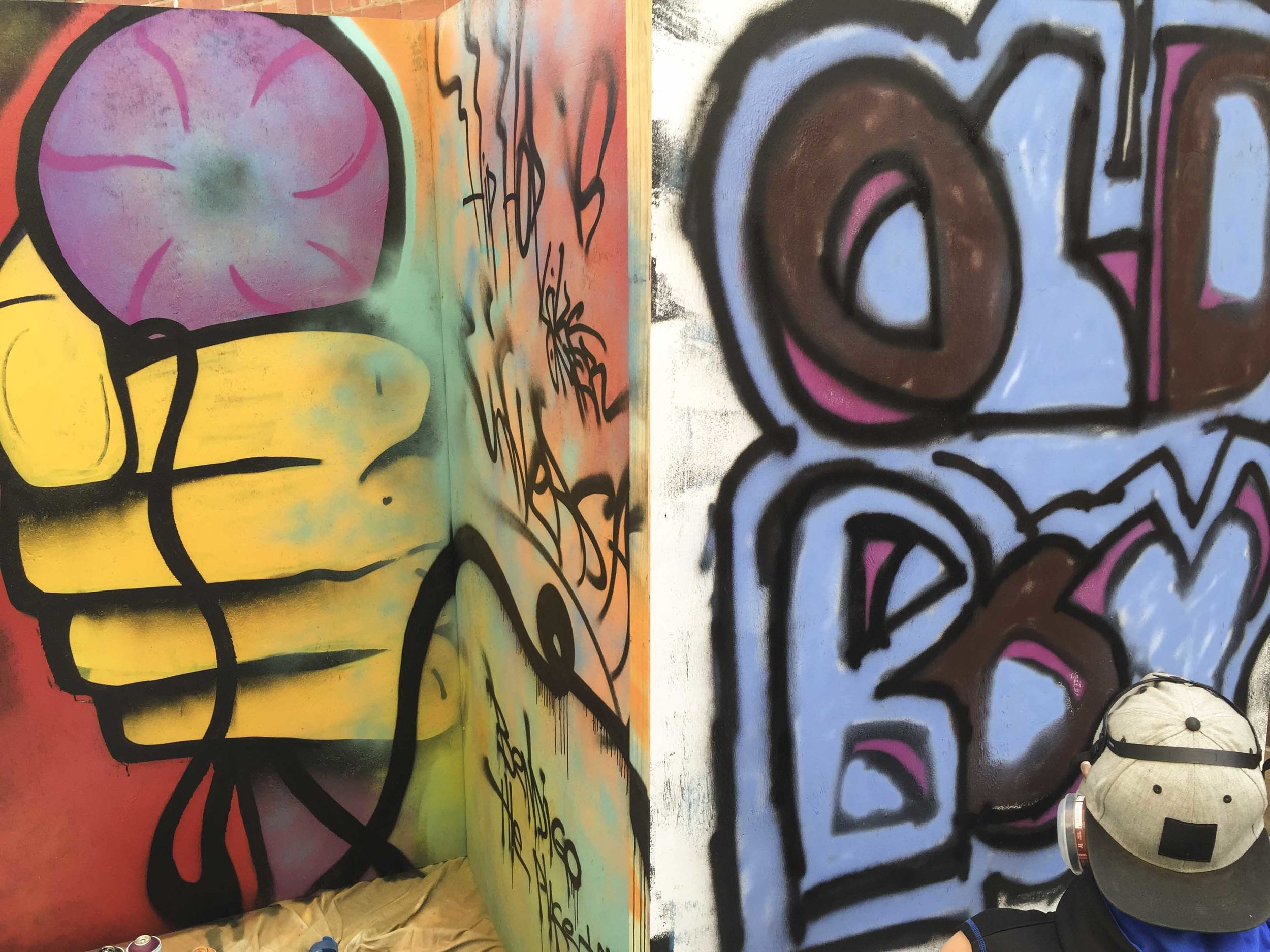 Bendigo Street Festival Graffiti