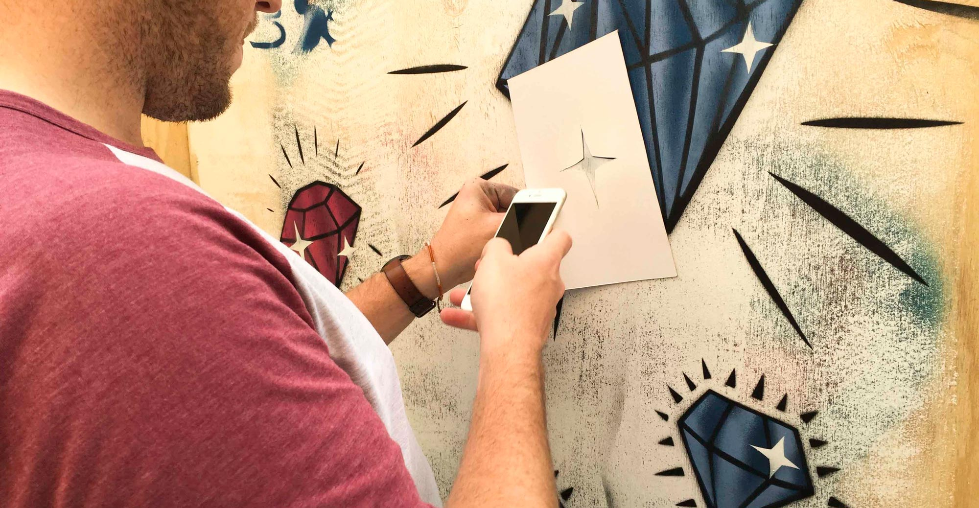 The open to public graffiti session during the Bendigo street festival was a great way to get more interest in the graffiti prevention program