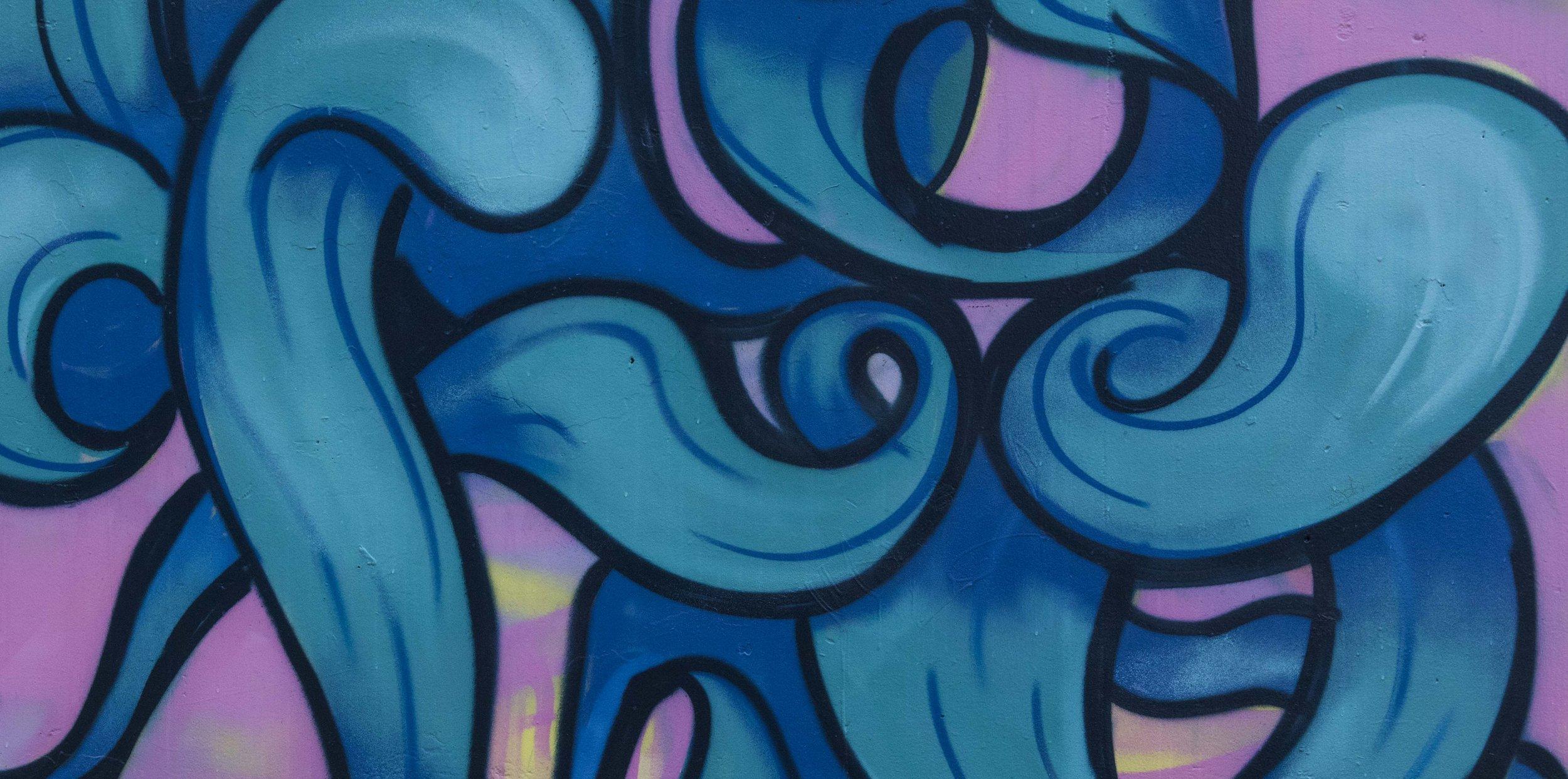 Bendigo graffiti legal wall -