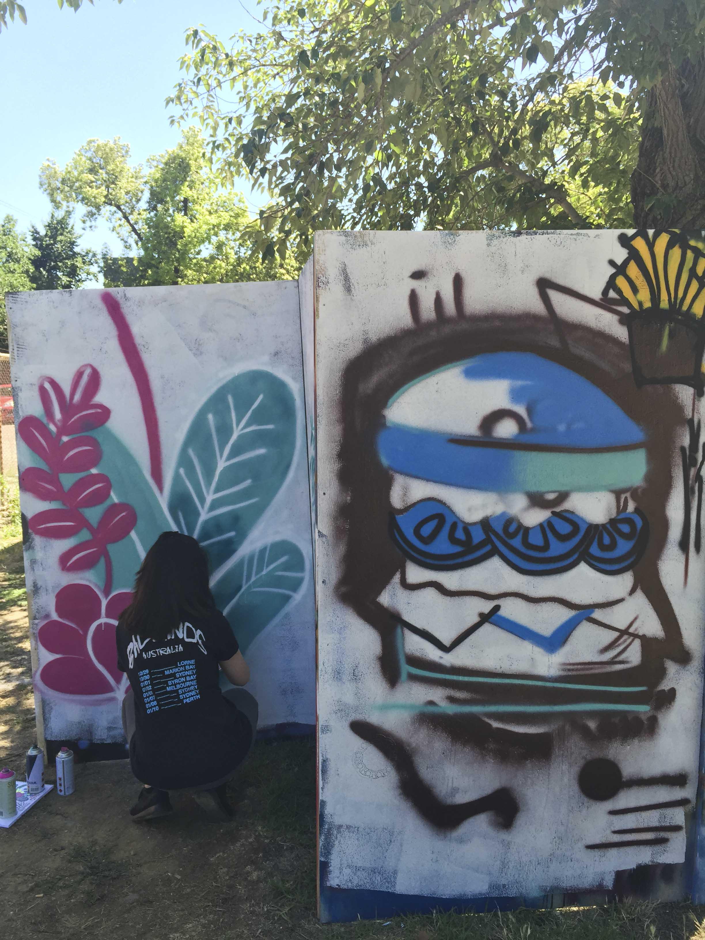 Yo Bendigo Skatepark Graffiti Street art workshop_2.jpg