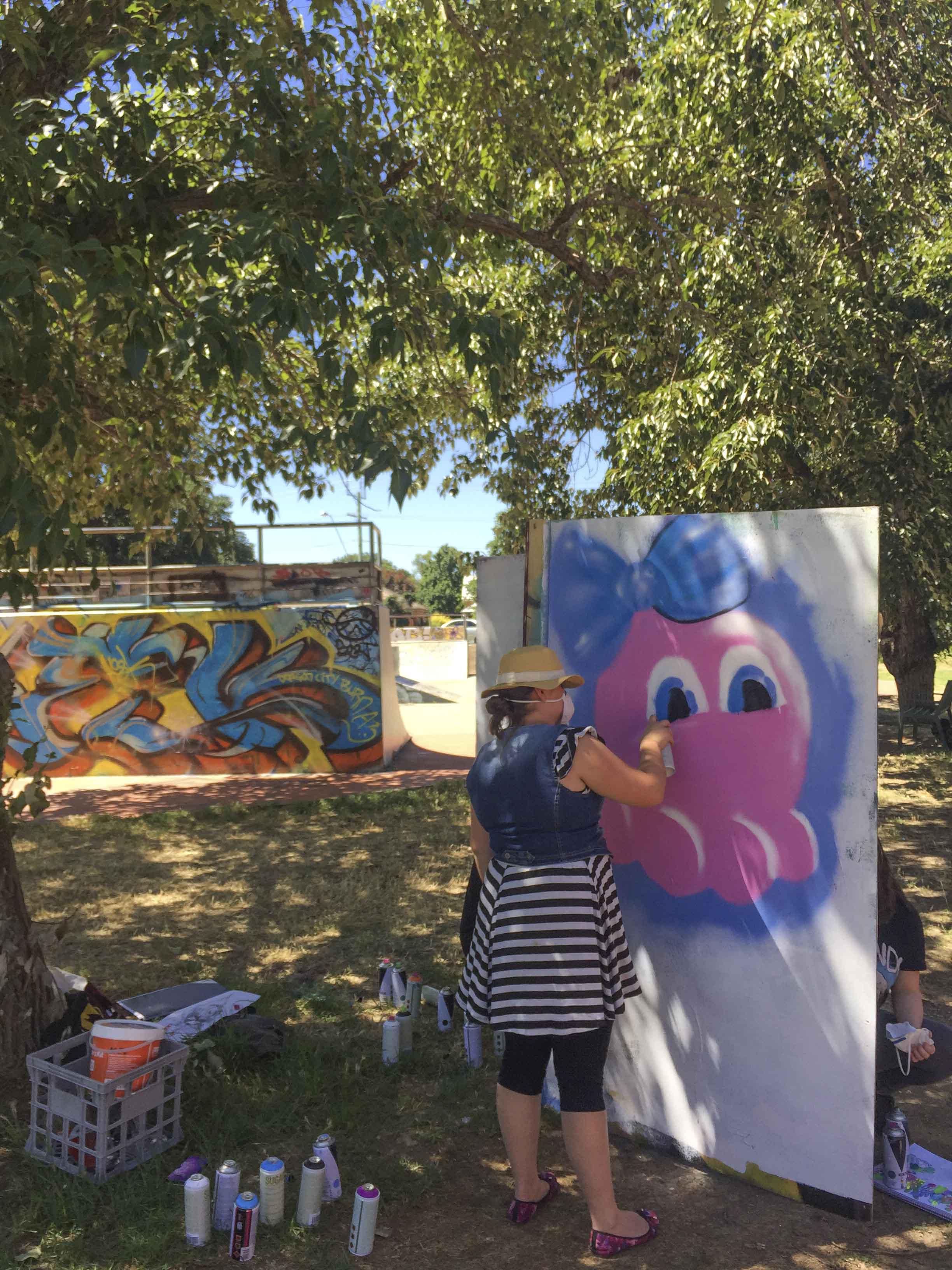 Yo Bendigo Skatepark Graffiti Street art workshop_3.jpg