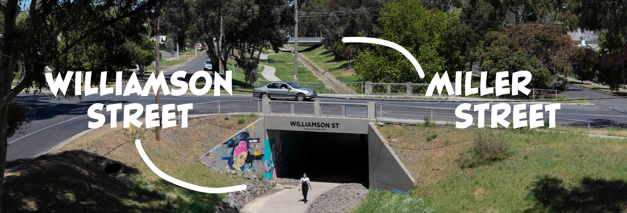 Williamson-Street-Miller-Street-bridge-bendigo-artist-ride.jpg