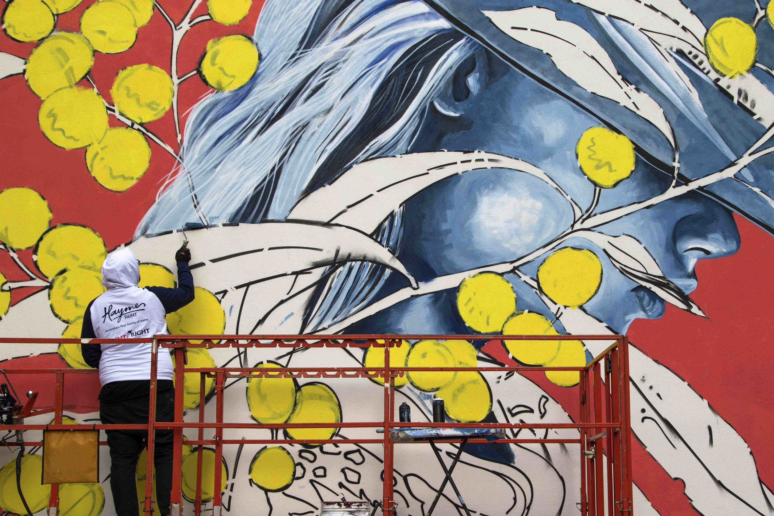 Jack Fran Paints Mural In Bendigo - Day 3-8.jpg