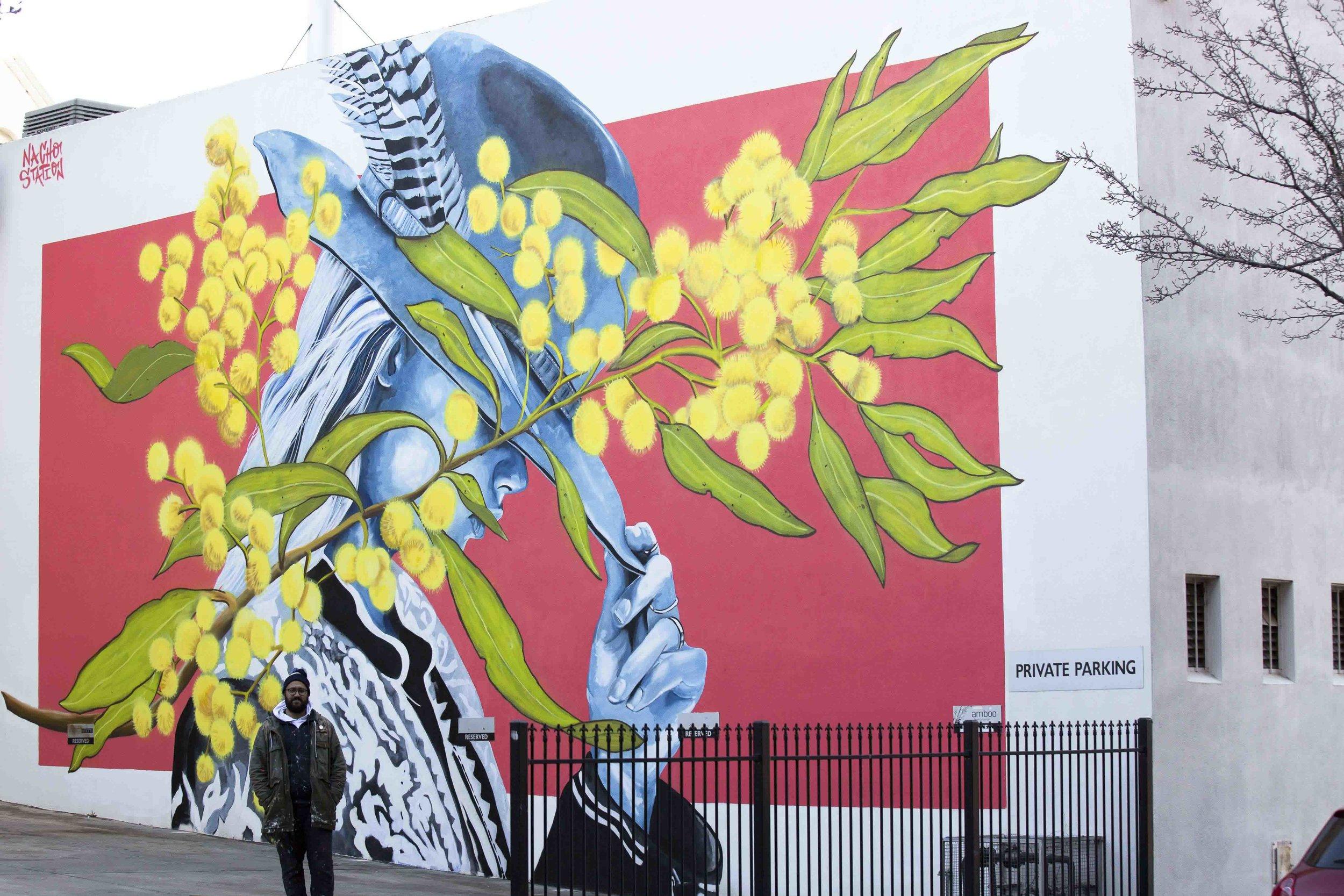 Jack Fran Paints Mural In Bendigo - Day 5-11.jpg
