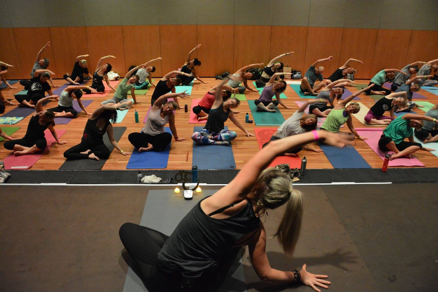 A big thanks to all the yogis who attended my SLOW FLOW session x