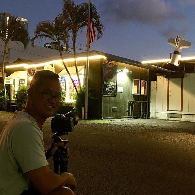 Home of the Brave Museum night shoot w/ Dave Miyamoto aka: Fish outta wata... Thanks Dave for the many years of Friendship & Award-winning photography!!! #homeofthebrave #brewseum #rememberhonorsalute #davemiyamotophotography