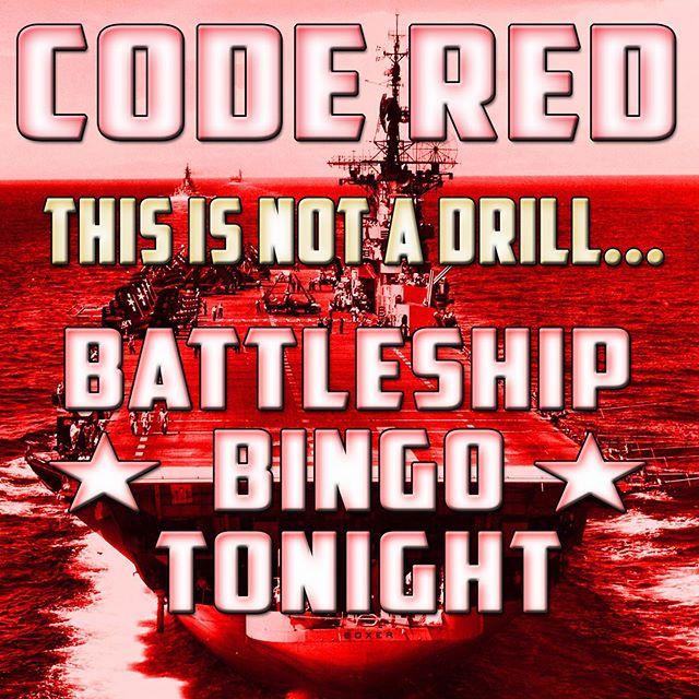 Man your Battle Station- Coordinates announced @ 6 & 7pm Tonight!  #battleshipbingo #homeofthebrave #brewseum #homeofthebrave