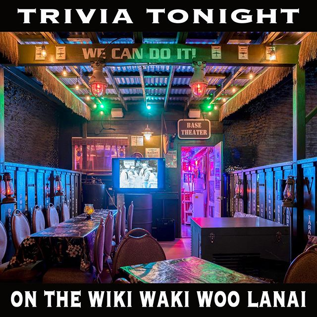 Honolulu's favorite Trivia tonight in the Brewseum & Wiki Waki Woo starting @ 6pm. Doors open @ 5pm. Guadalajara Tacos on site.  #brewseum #homeofthebrave #rememberhonorsalute #wikiwakiwoo #trivia #guadalajaratacos