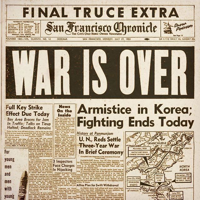 "66 years ago the guns fell silent & the Korean War was officially over! Home of the Brave Remembers Honors & Salutes our Korean War Veterans - sometimes called the ""Forgotten War"" - We must never forget our Veterans Service & Sacrifice!  #koreanwar #homeofthebrave #rememberhonorsalute #brewseum"