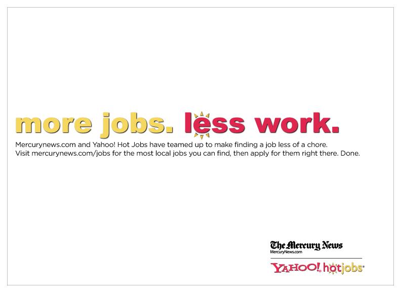Hot Jobs Newspaper Ads