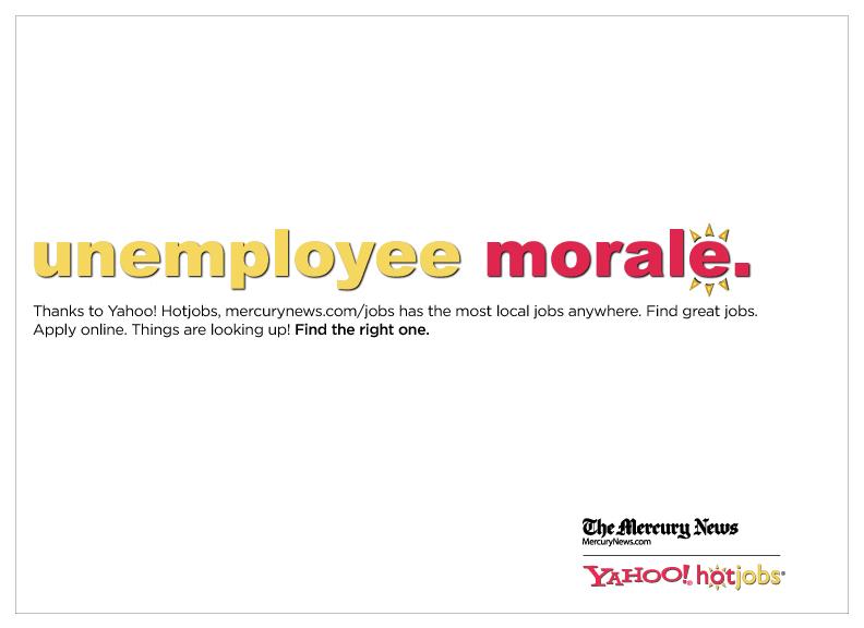 Hot Jobs Newspaper Ad