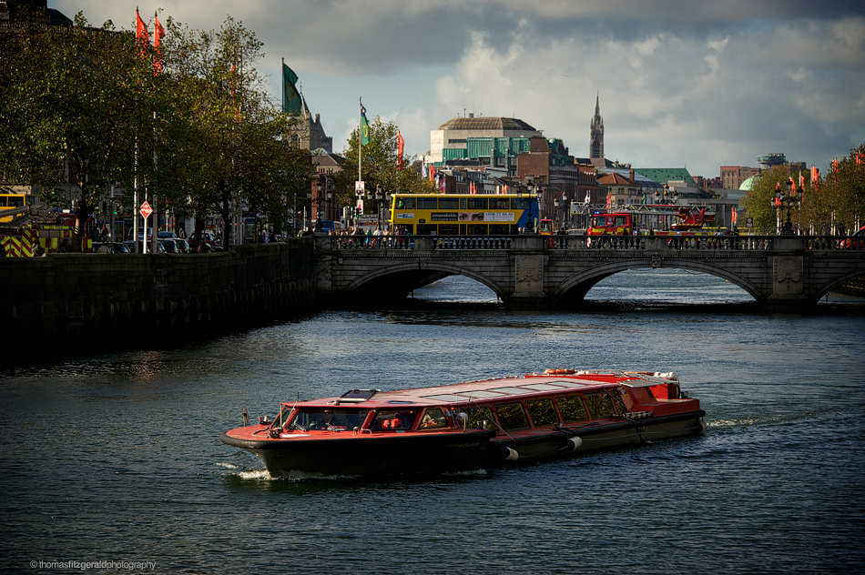 Dublin City and the River Liffey