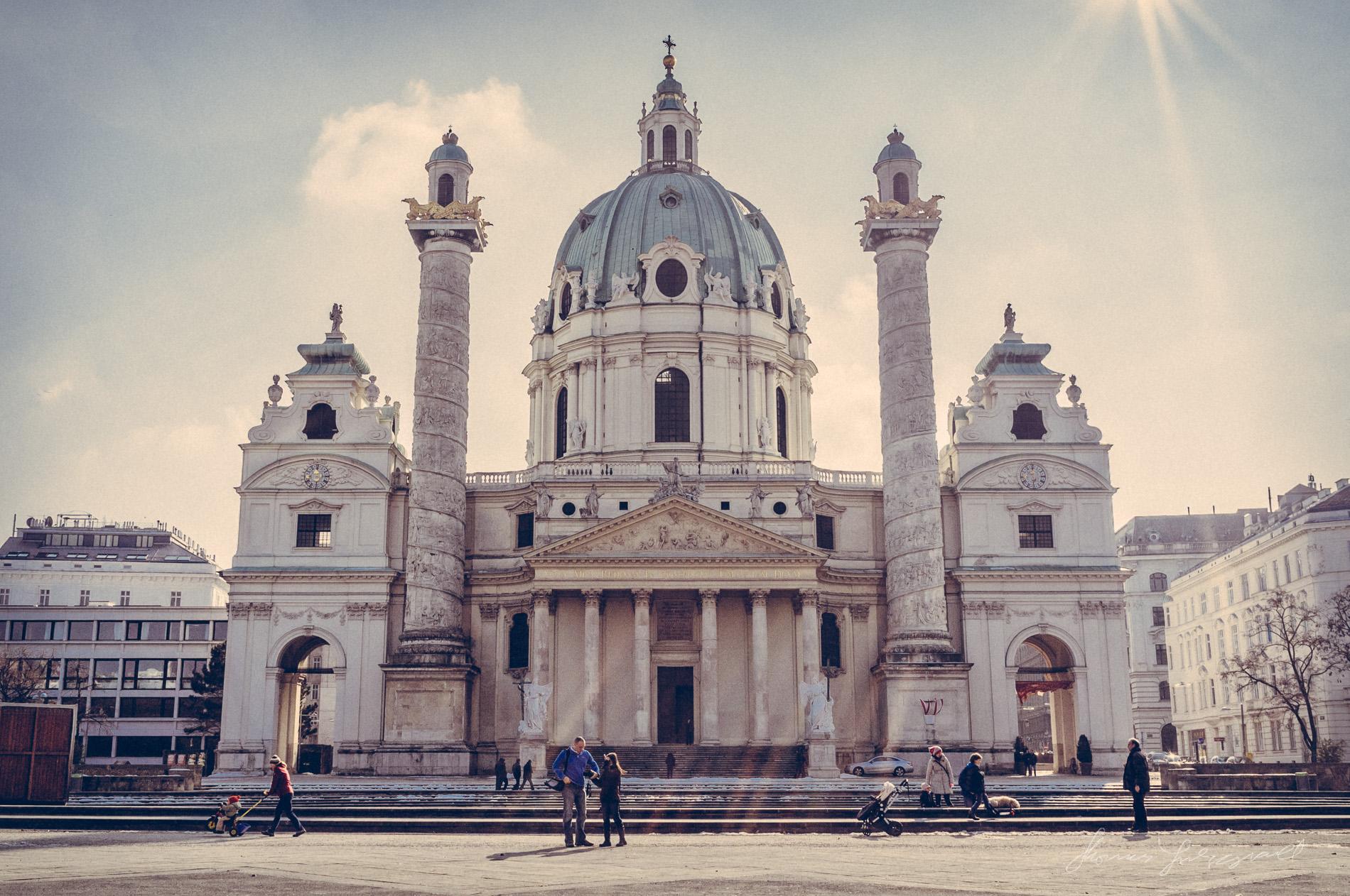 Old Church Vienna, Fujifilm X100