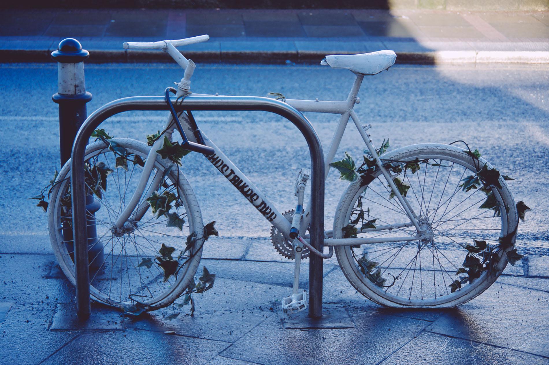 old bike ad