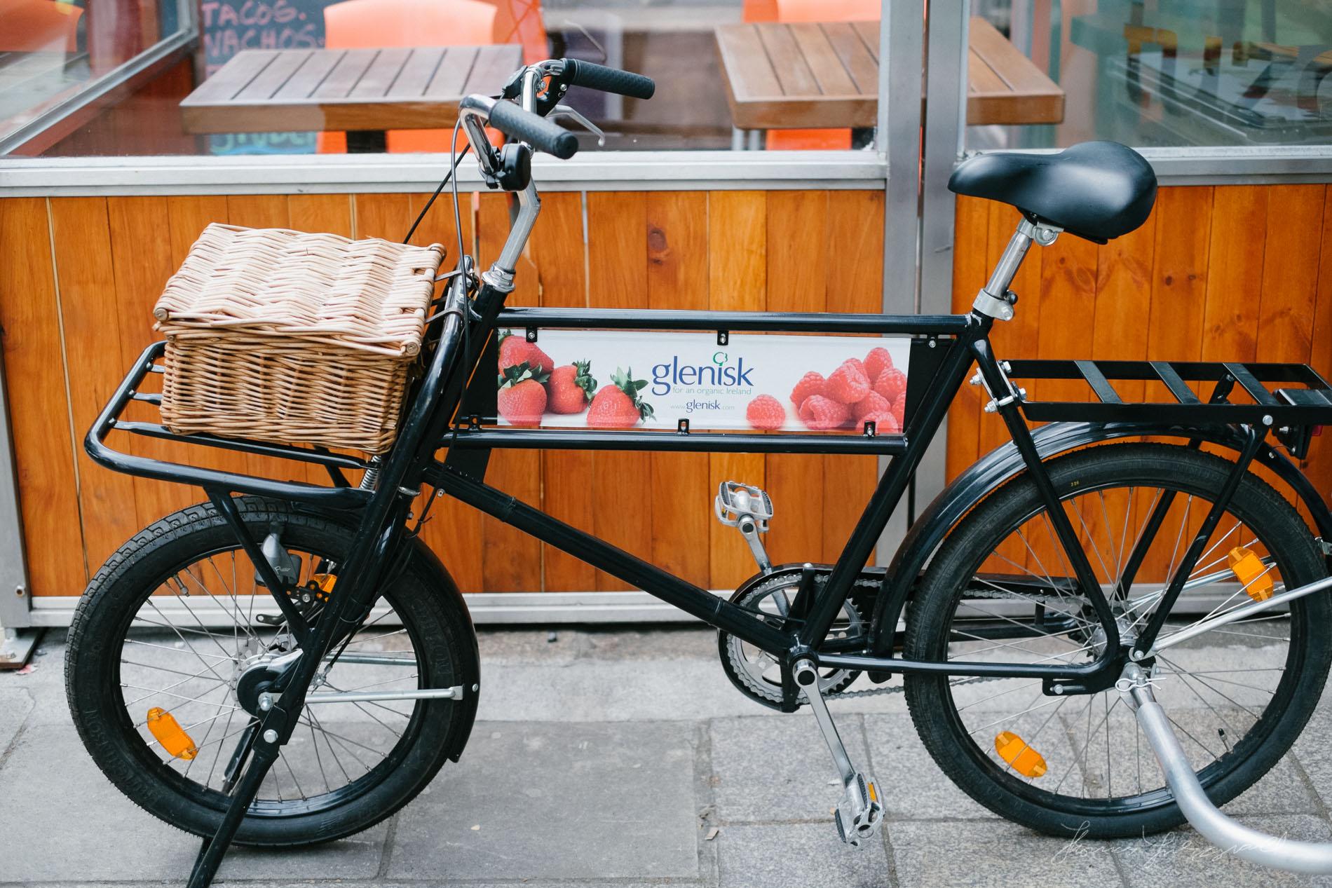 Glinisk Yogurt Bike in Dublin City