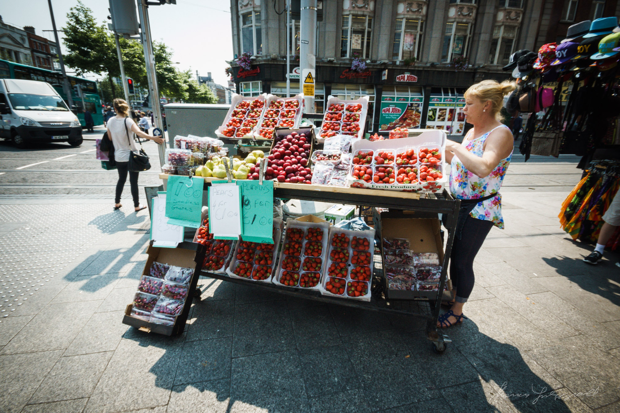 Strawberry Seller