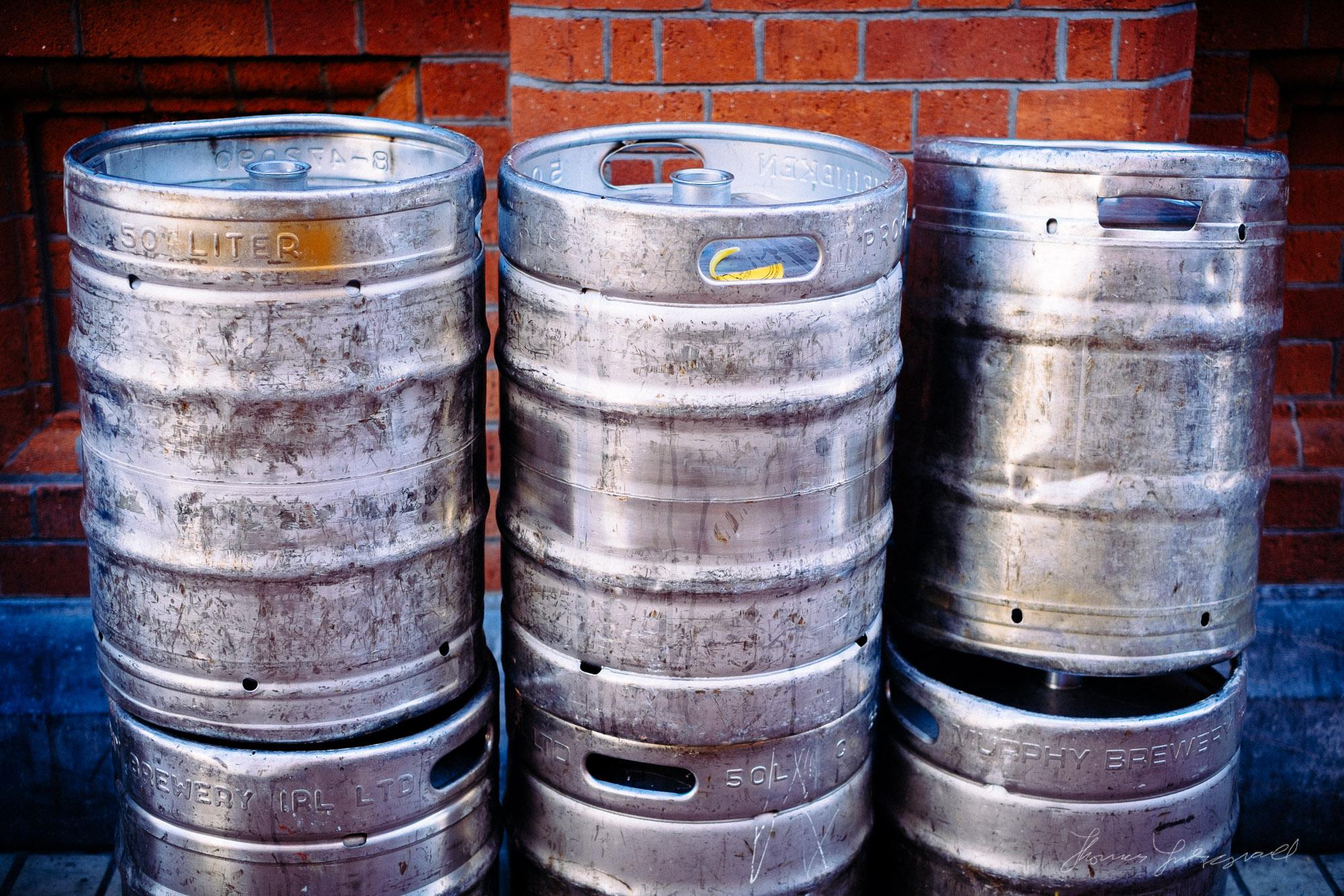 """Beer Kegs"" With Kodak E200 Preset"
