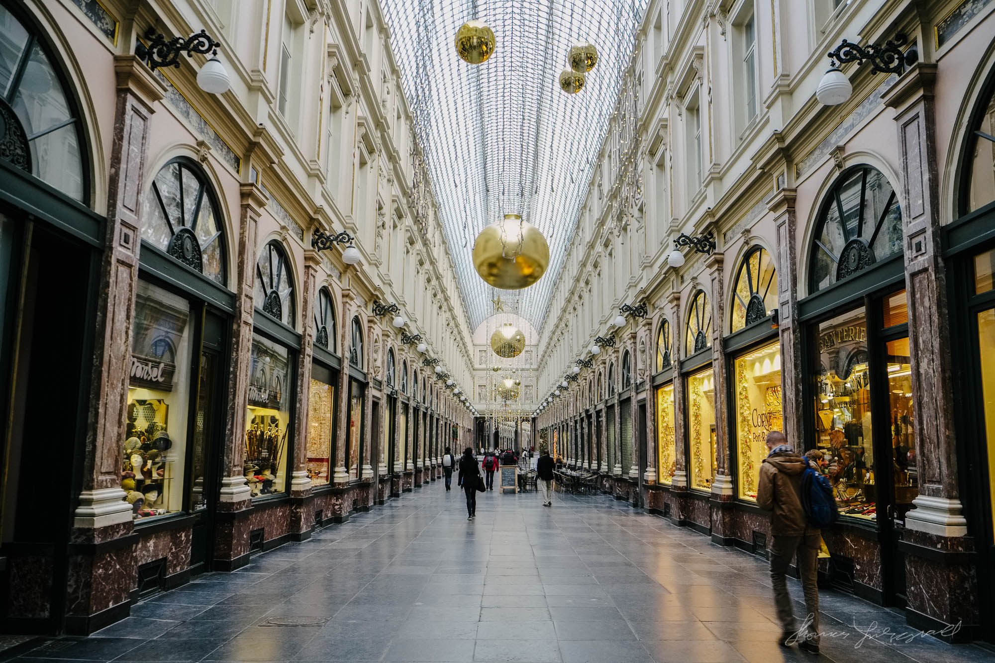 Gallerie in Brussels