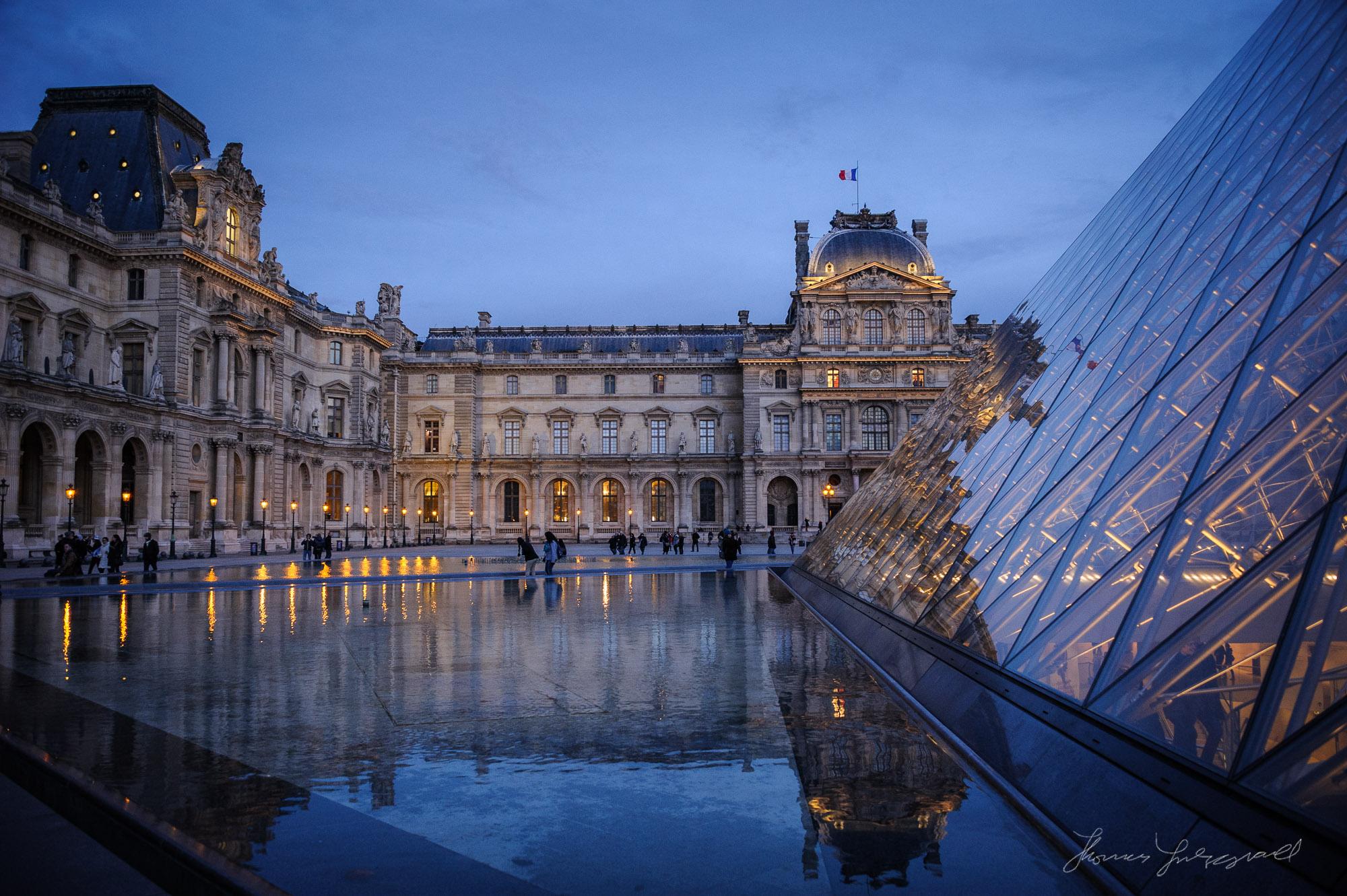 Louvre, Paris, December 2013