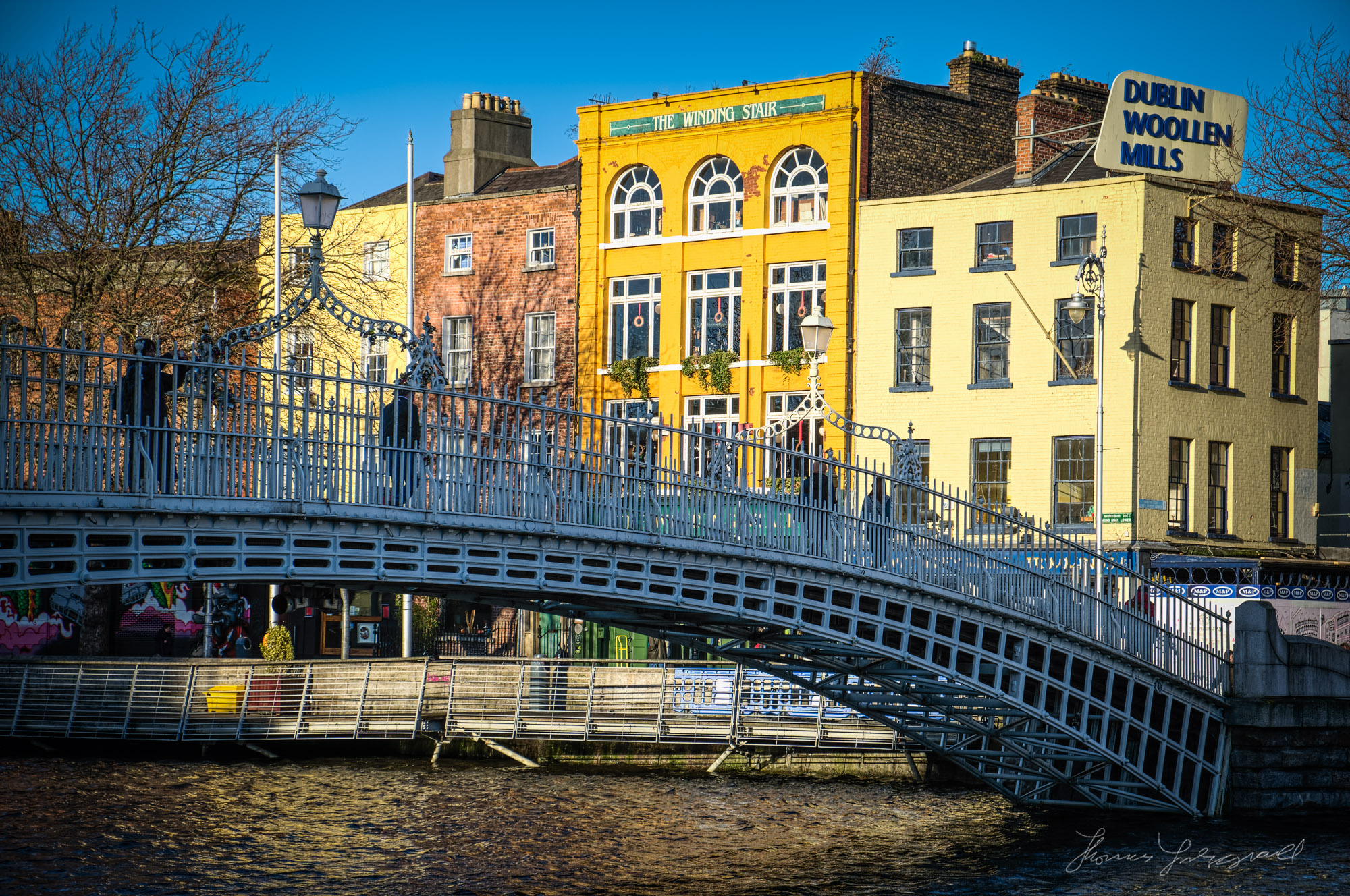Dublin's Ha'penny Bridge