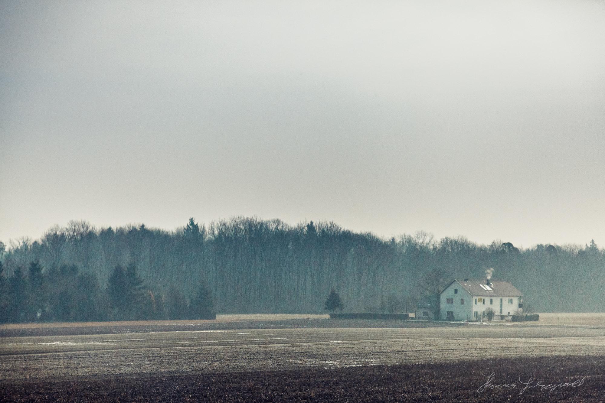 Austrian Countryside by Rail