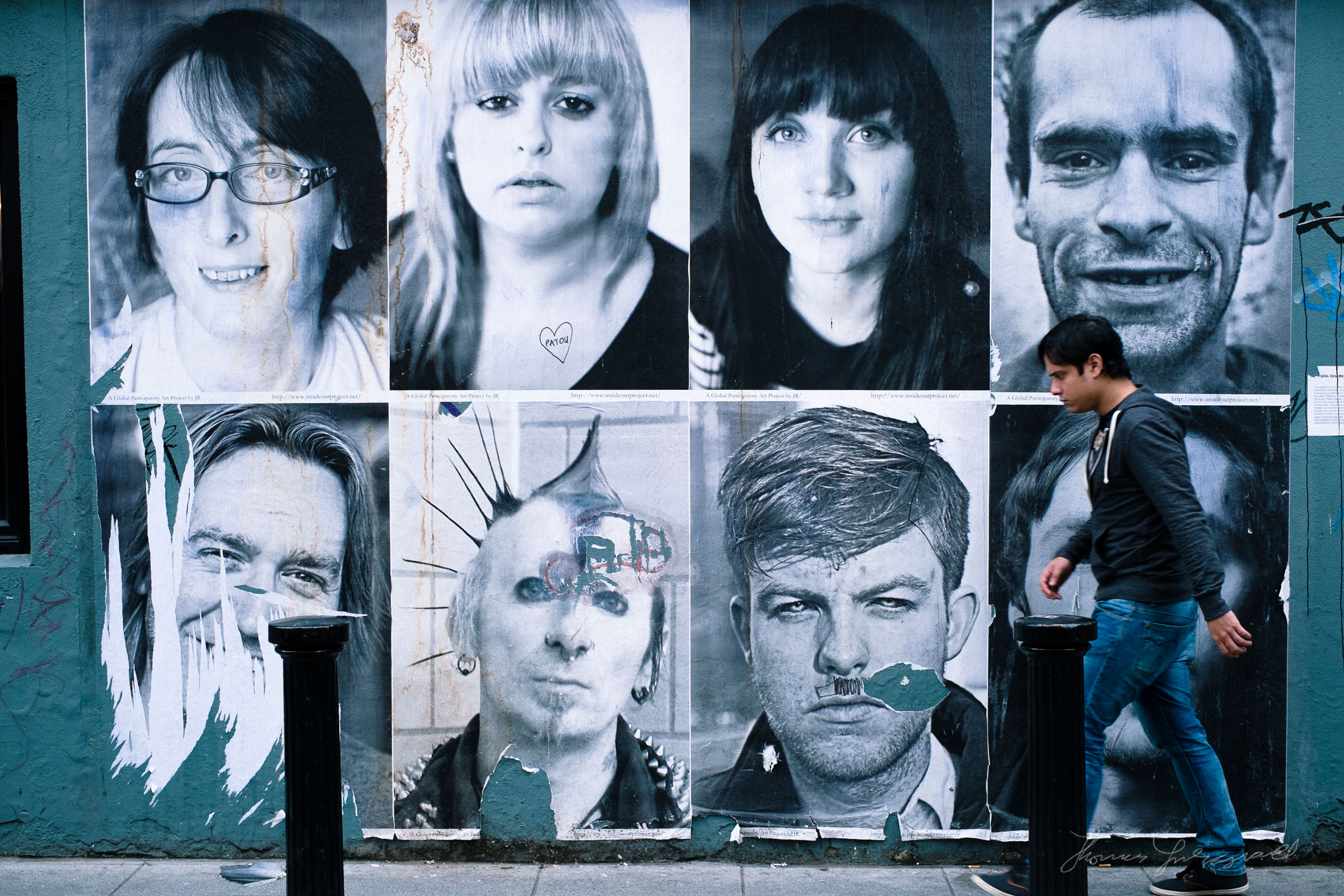 A Wall of Faces
