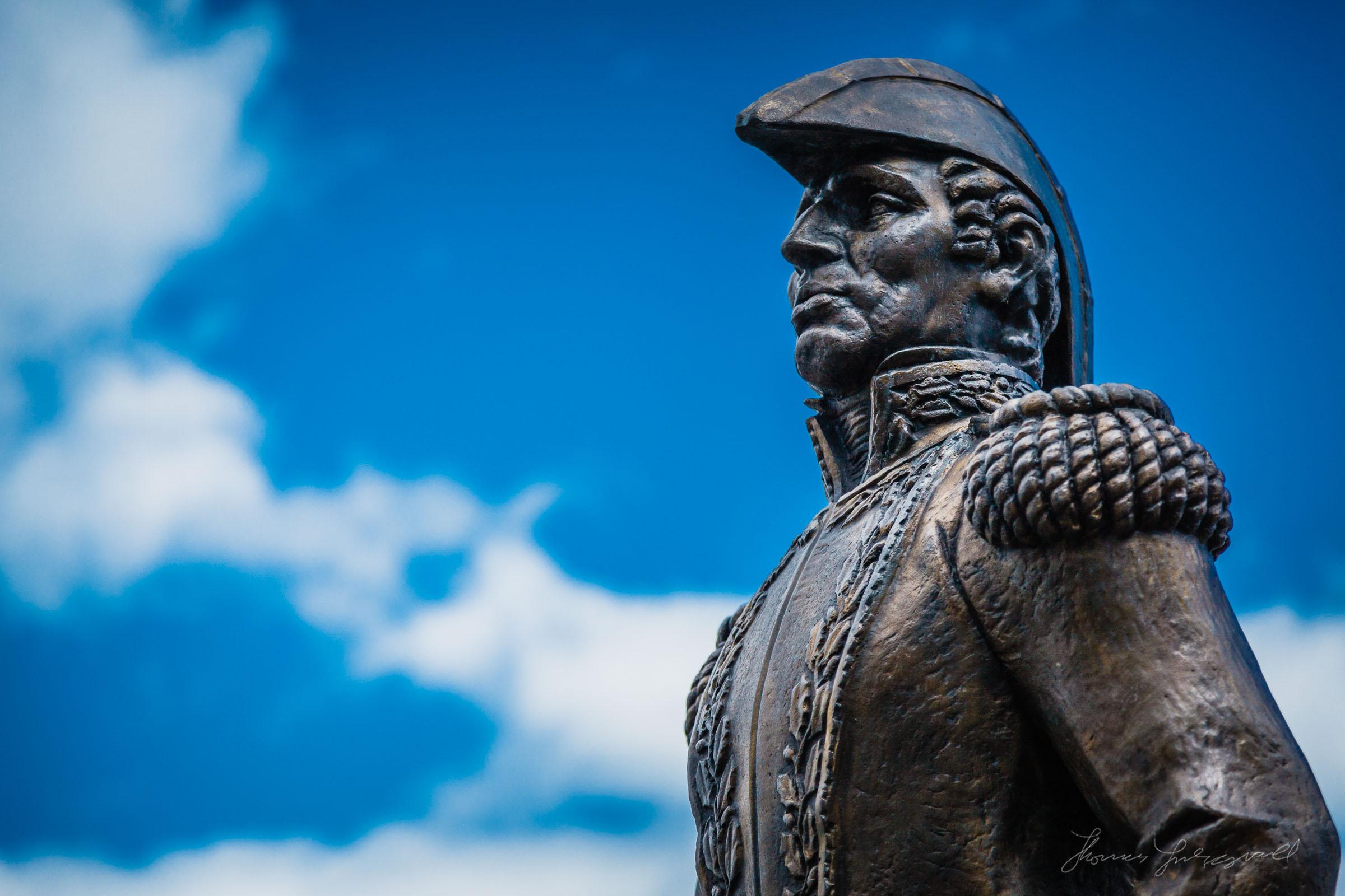Admiral Statue