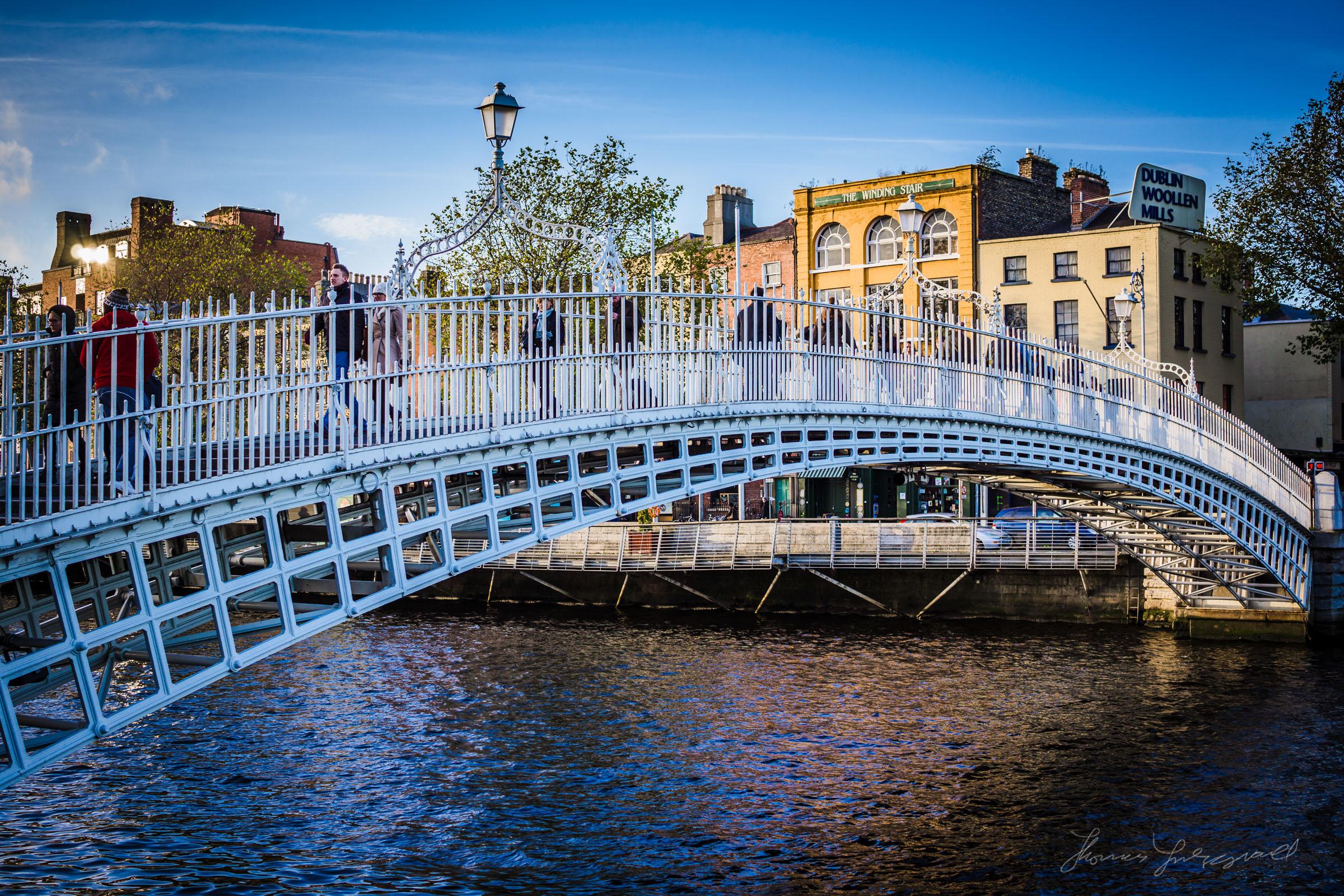 Dublin's Hapenny Bridge - Sony Nex 7