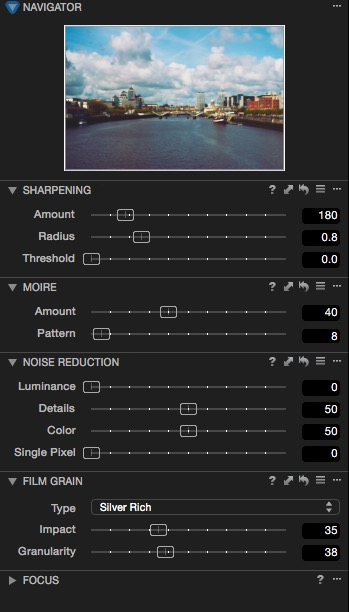 Capture One Settings for Processing Fuji Files