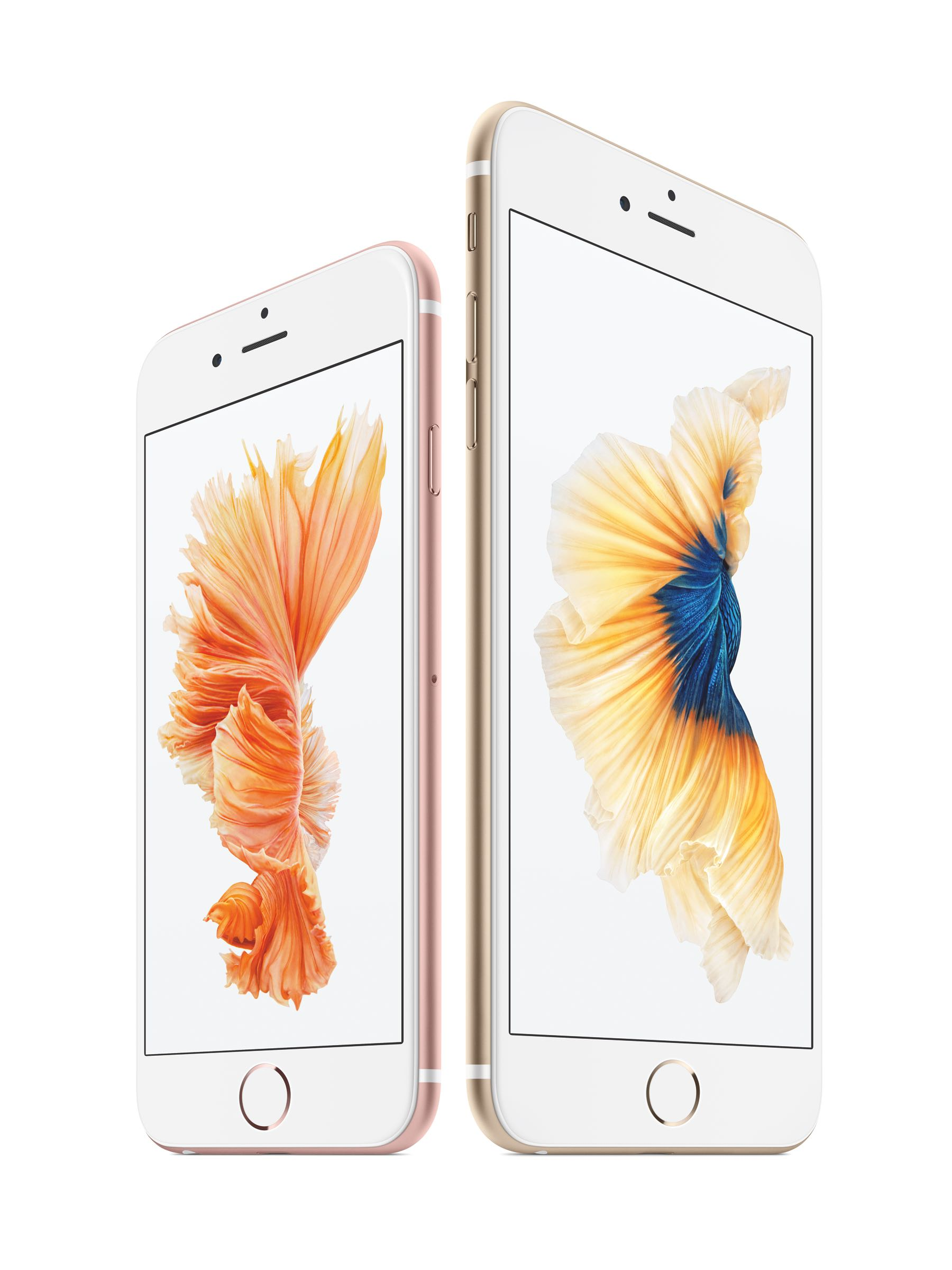 iPhone 6s and 6s Plus - Image Courtesy of Apple