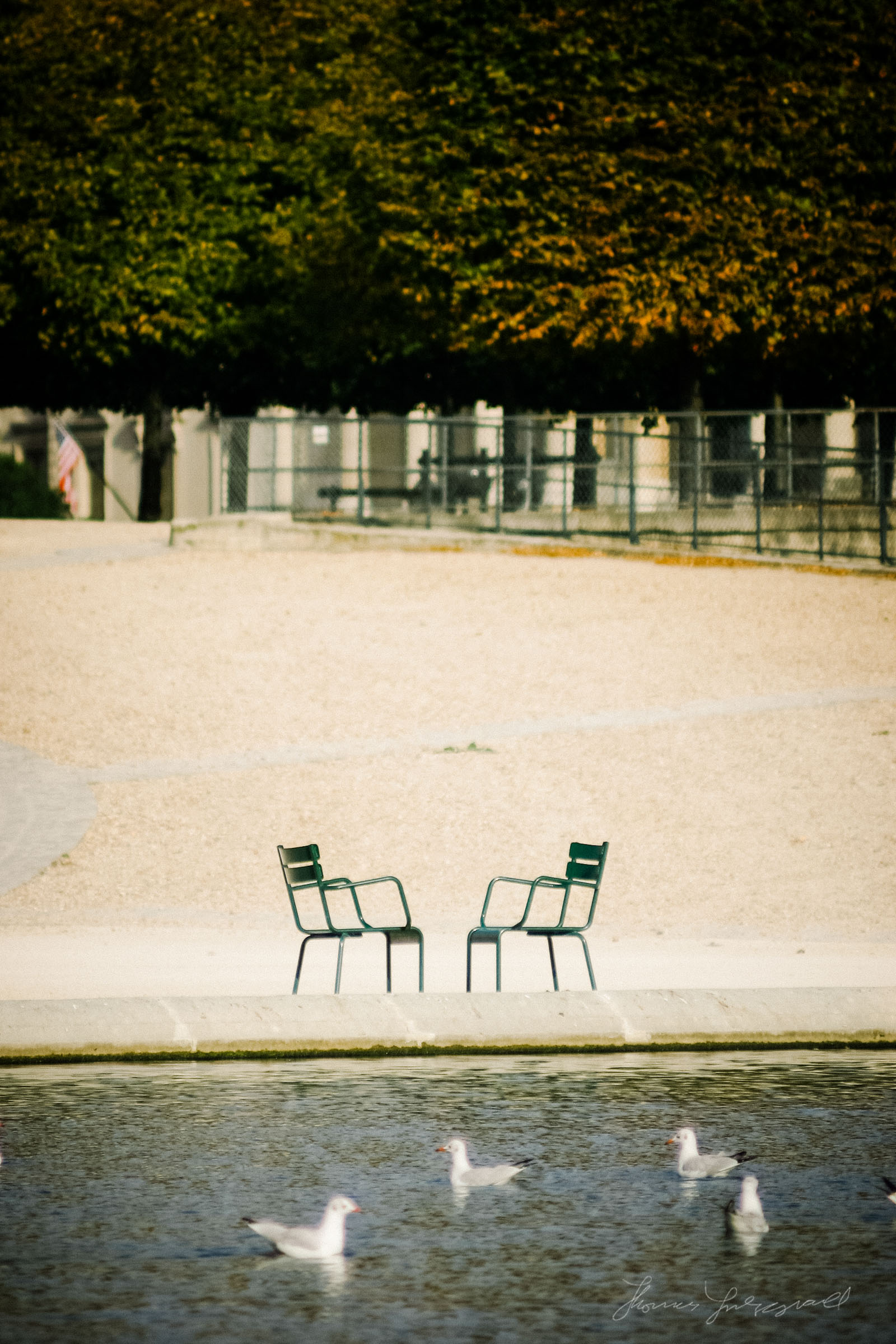 Seats in the Park