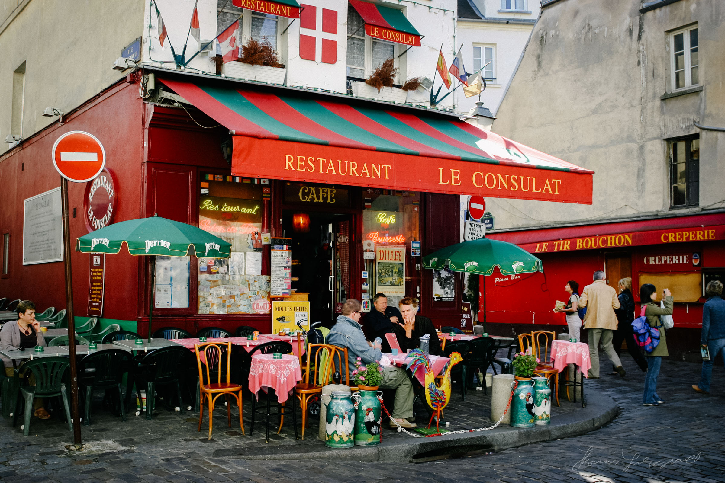 Resturaunt in Paris