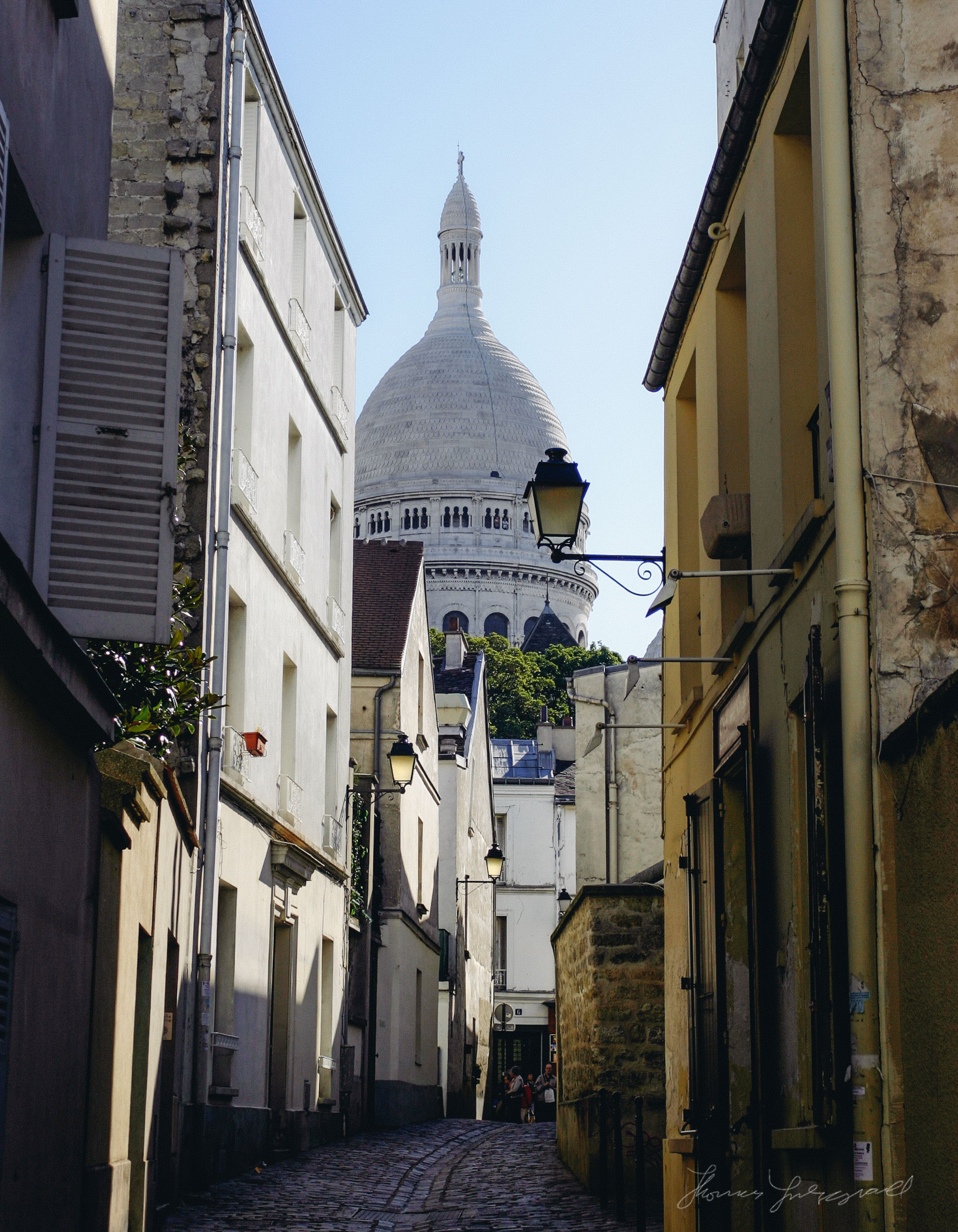 Street in Montmate, Paris