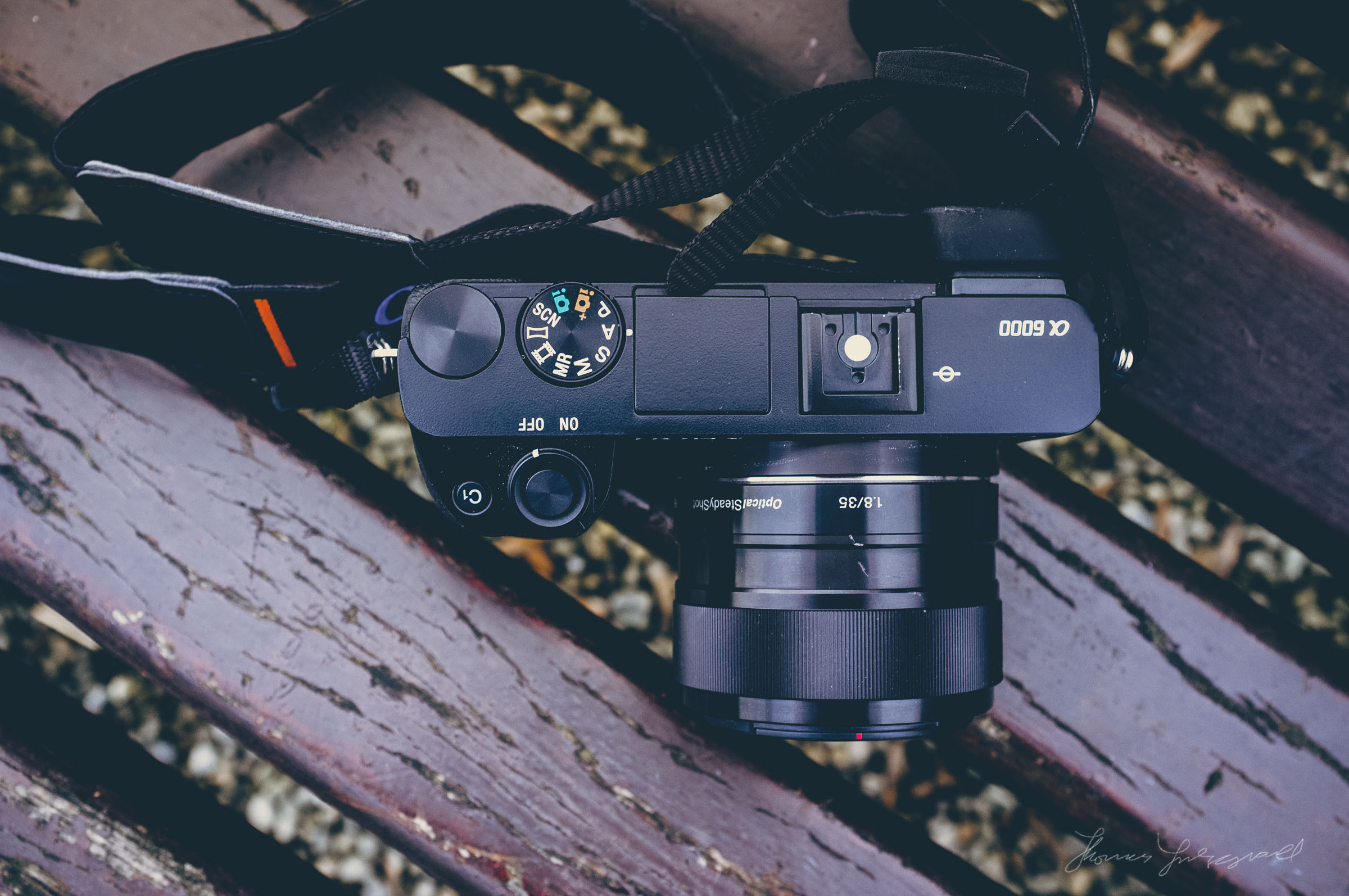 Sony A6000 Top