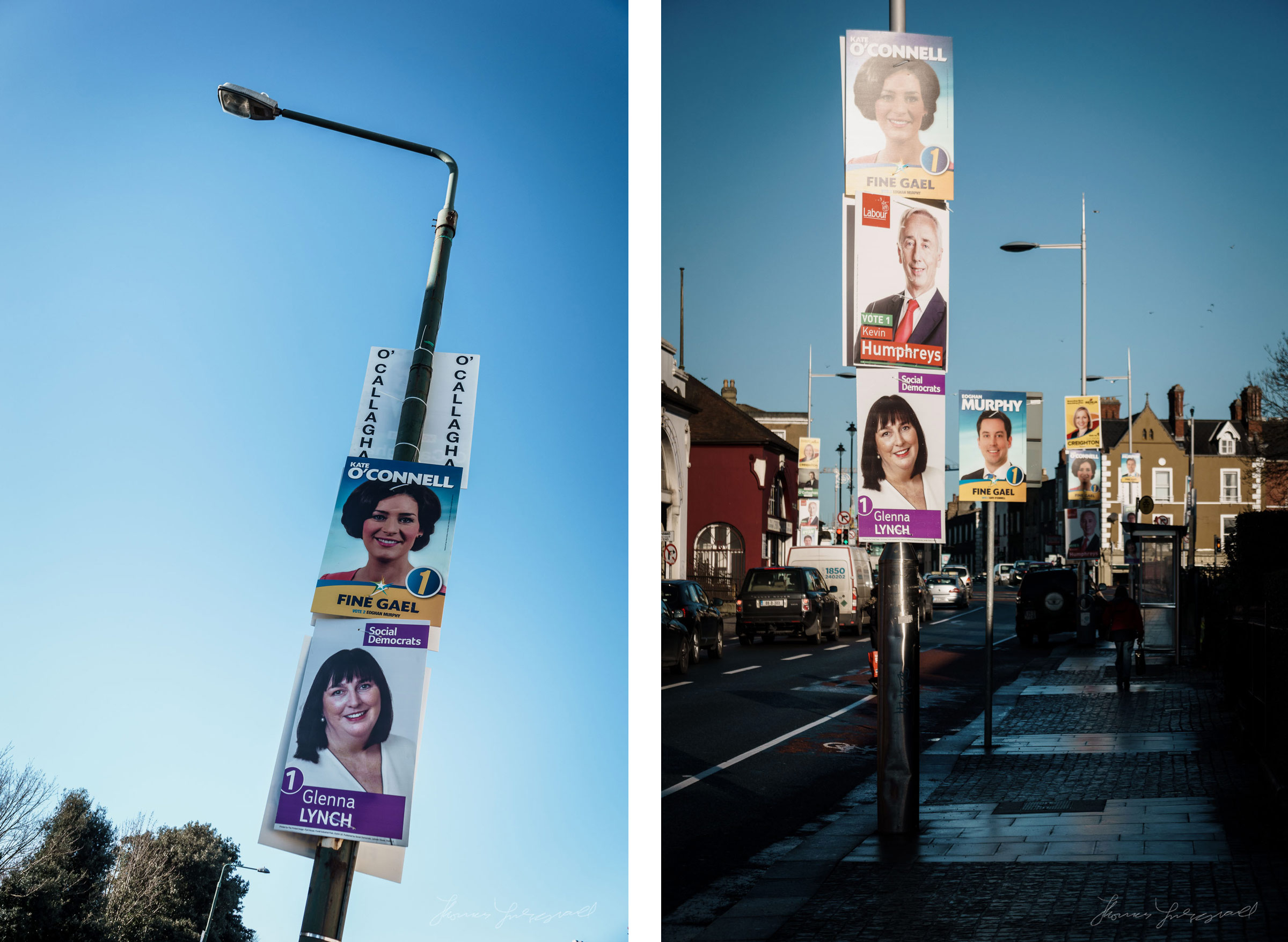 Dublin Election Posters