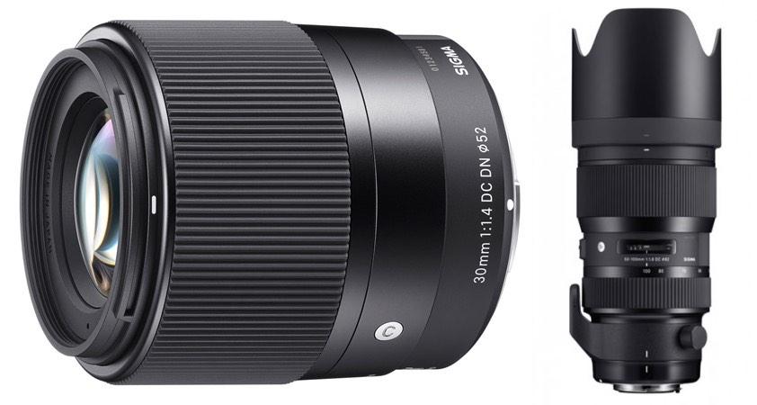 New Sigma Lenses