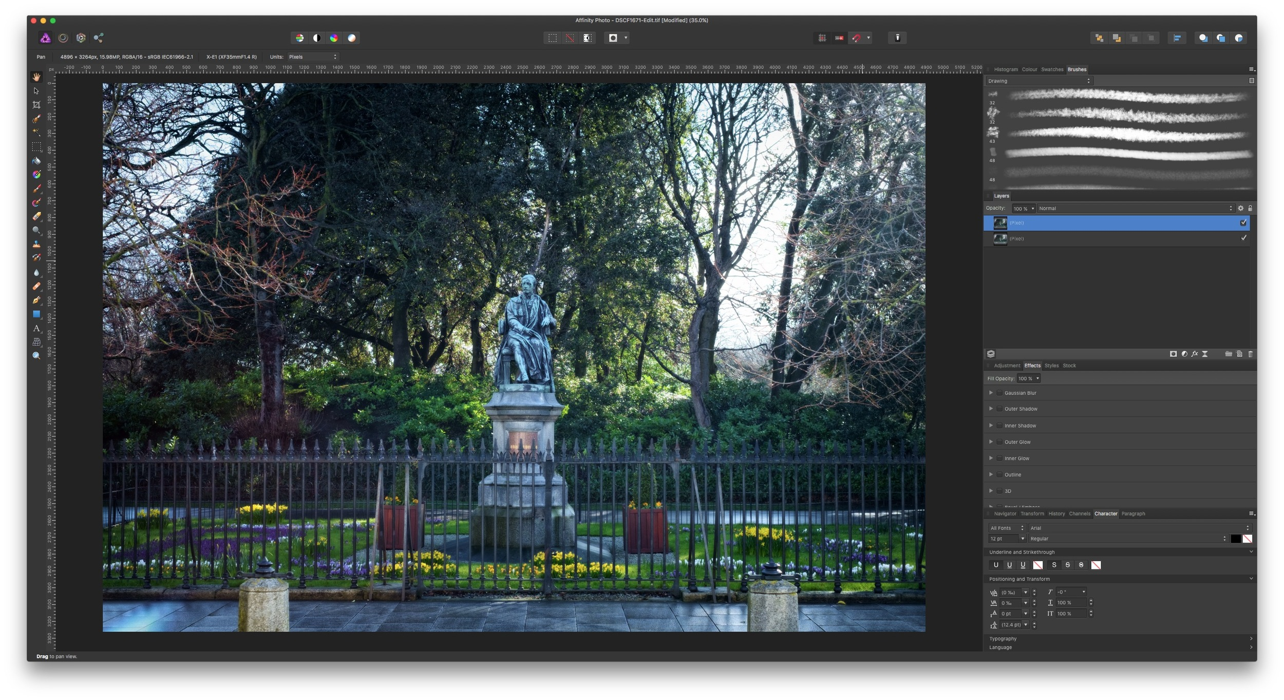How to use Affinity Photo as an External editor for