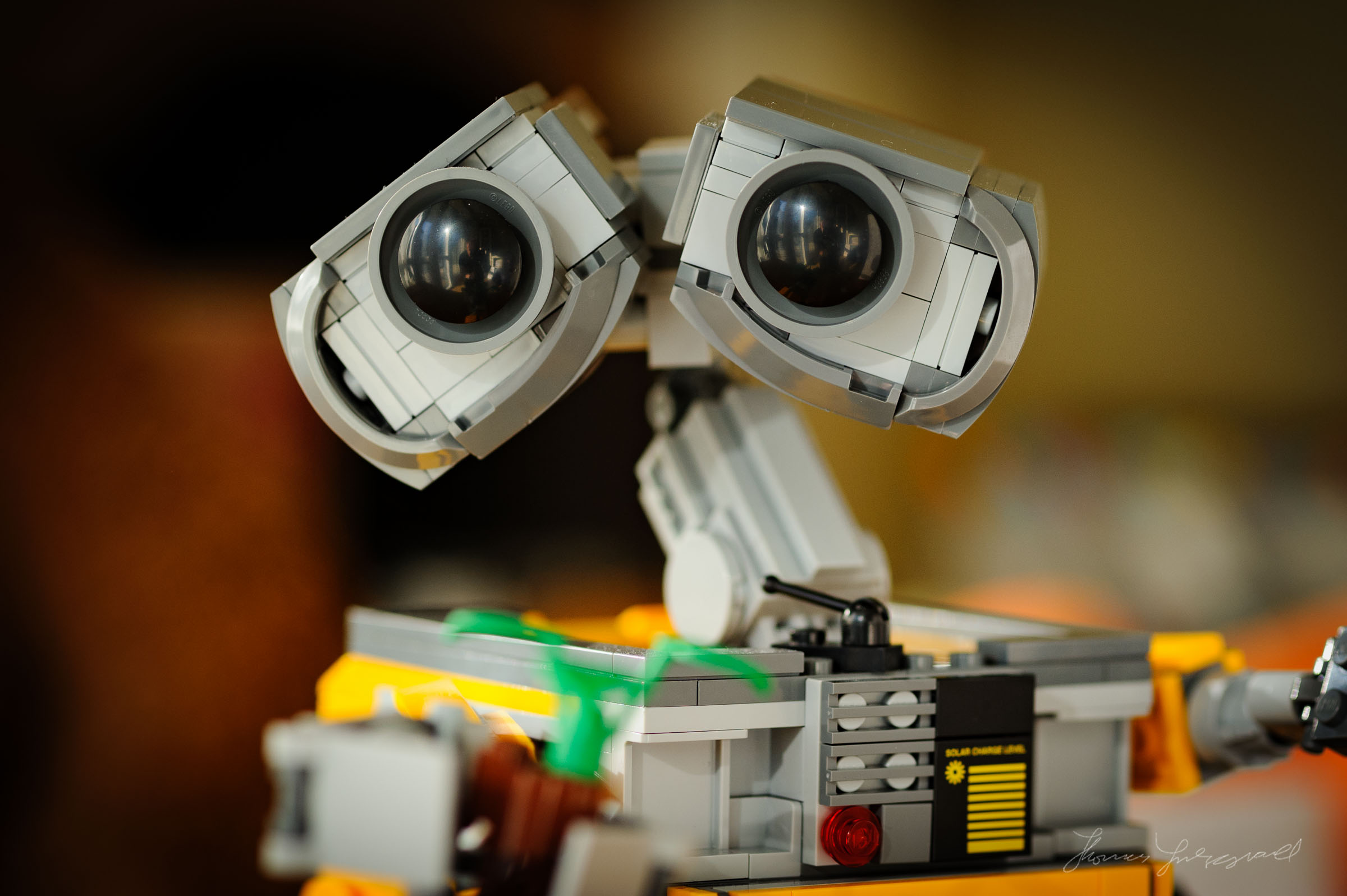Lego Wall-E - Toy Photography - Thomas Fitzgerald Photography