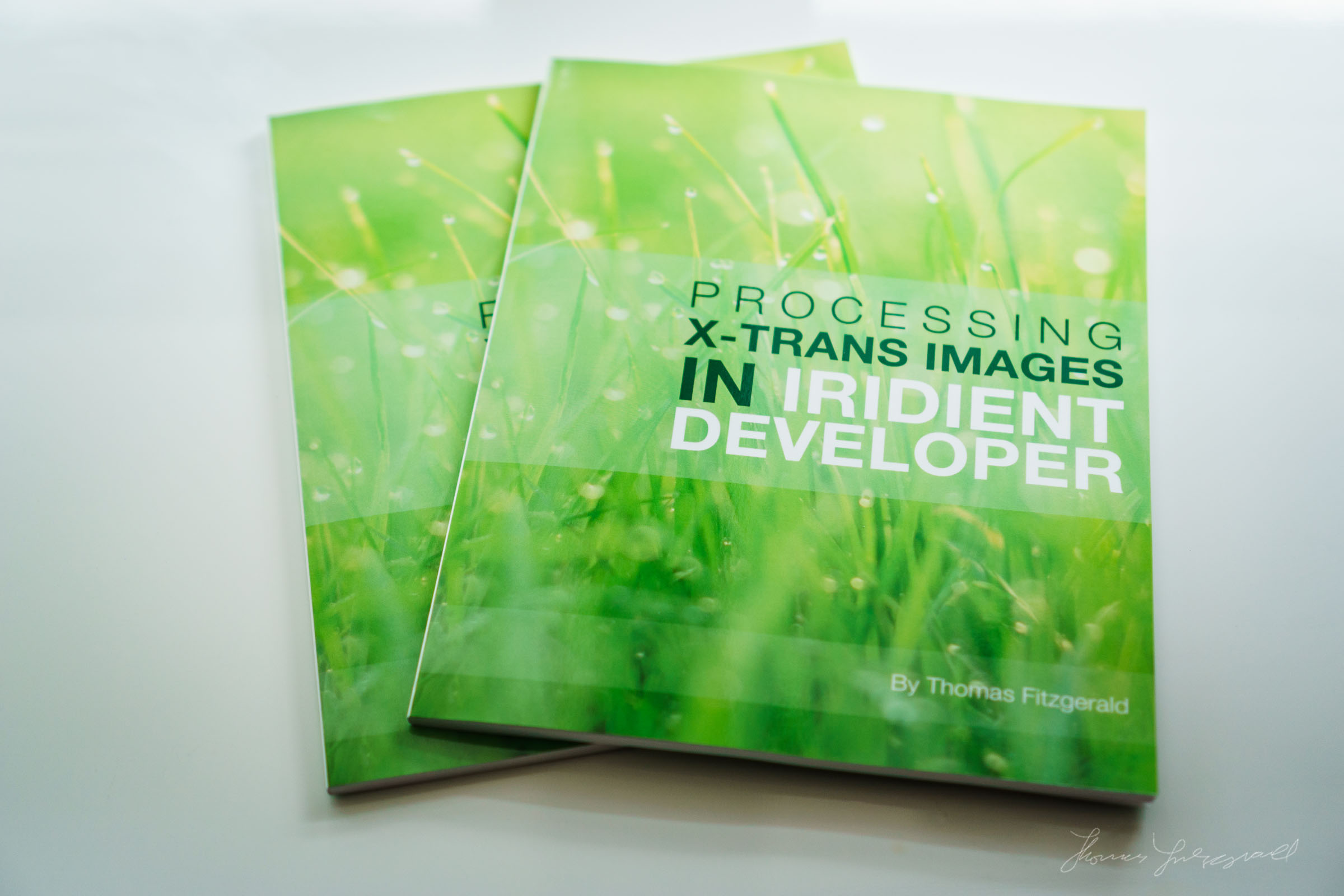 Limited Edition Print Version of my Iridient Developer Book