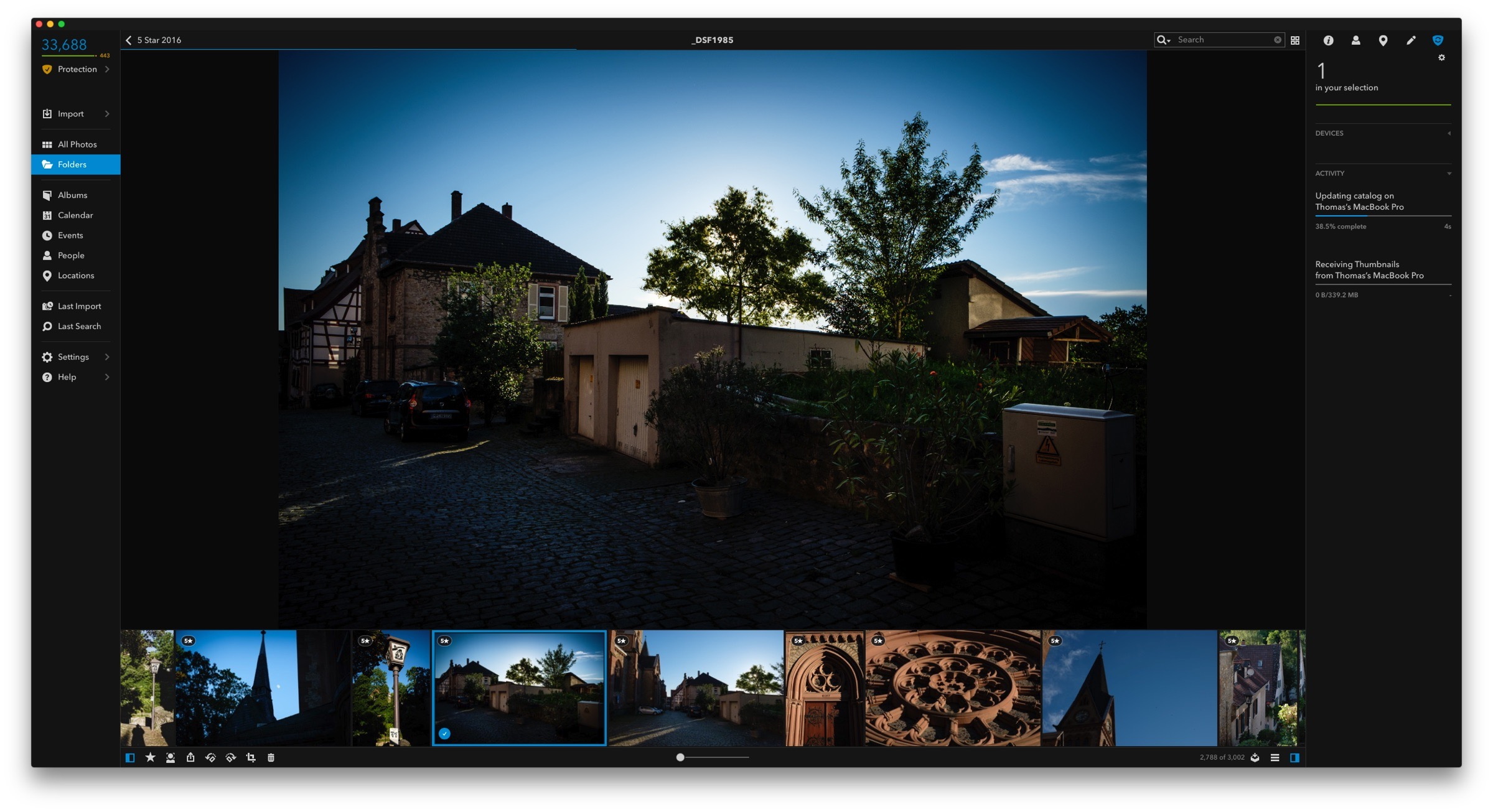 Mylio on the Mac -Archiving Projects in Lightroom