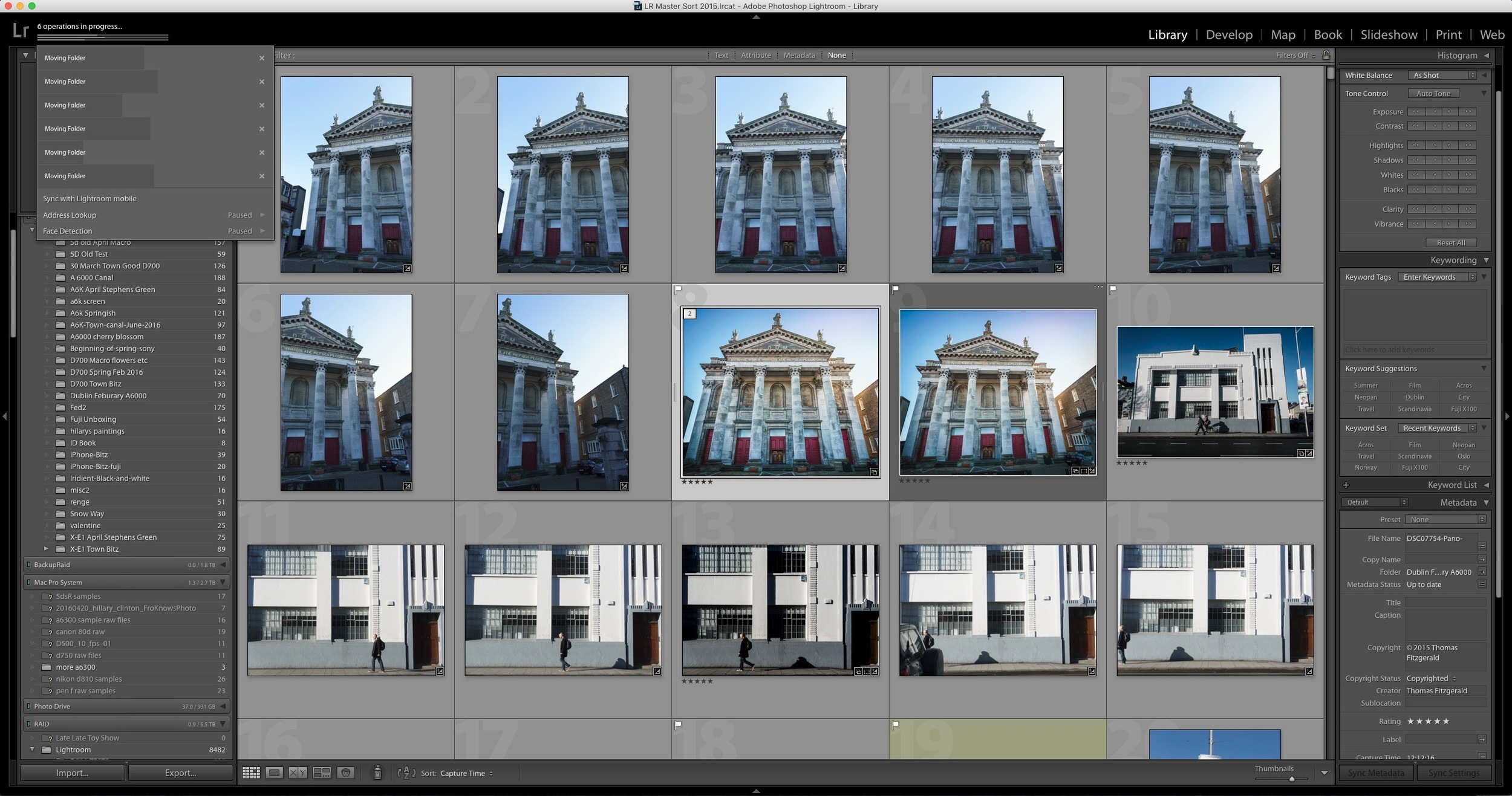 Archiving Projects in Lightroom