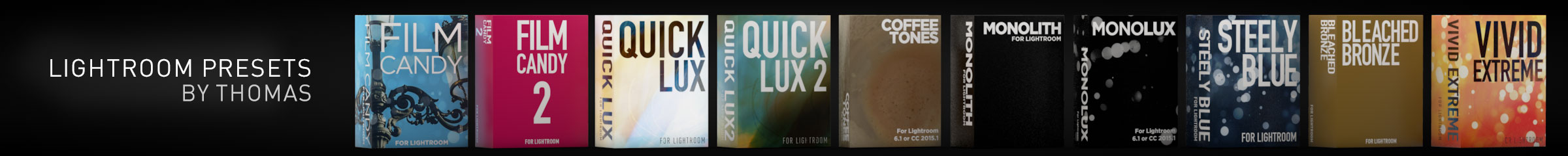 Lightroom Presets by Thomas Fitzgerald