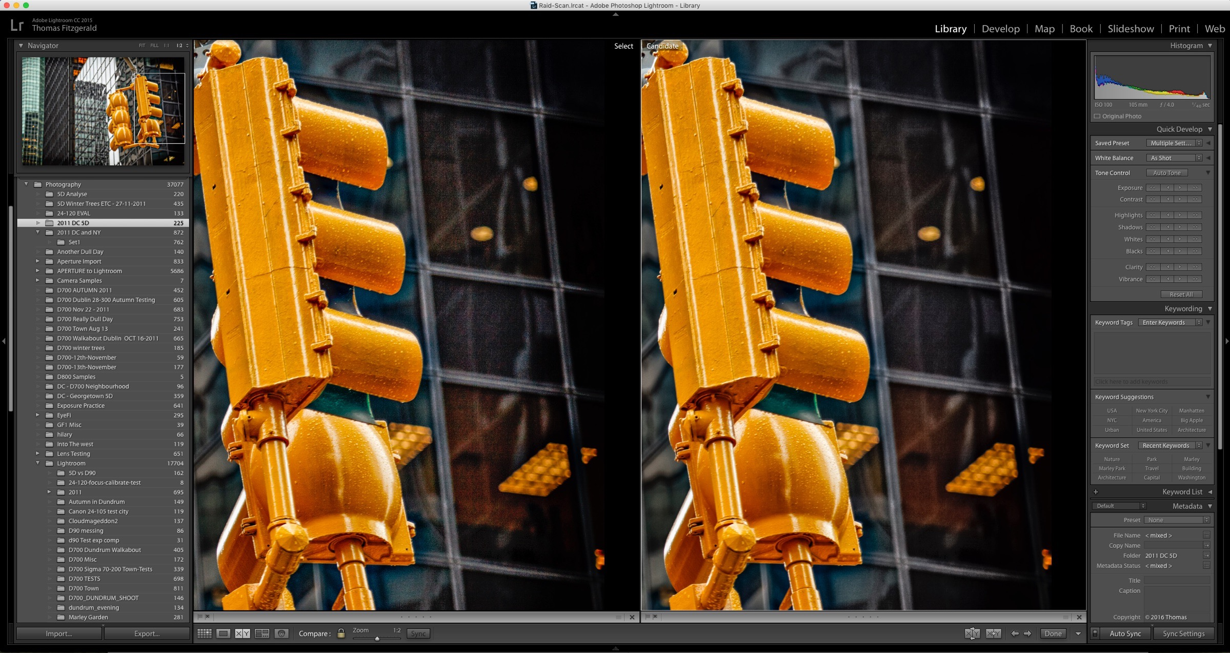 How to Reduce Shadow Noise using Lightroom and Photoshop