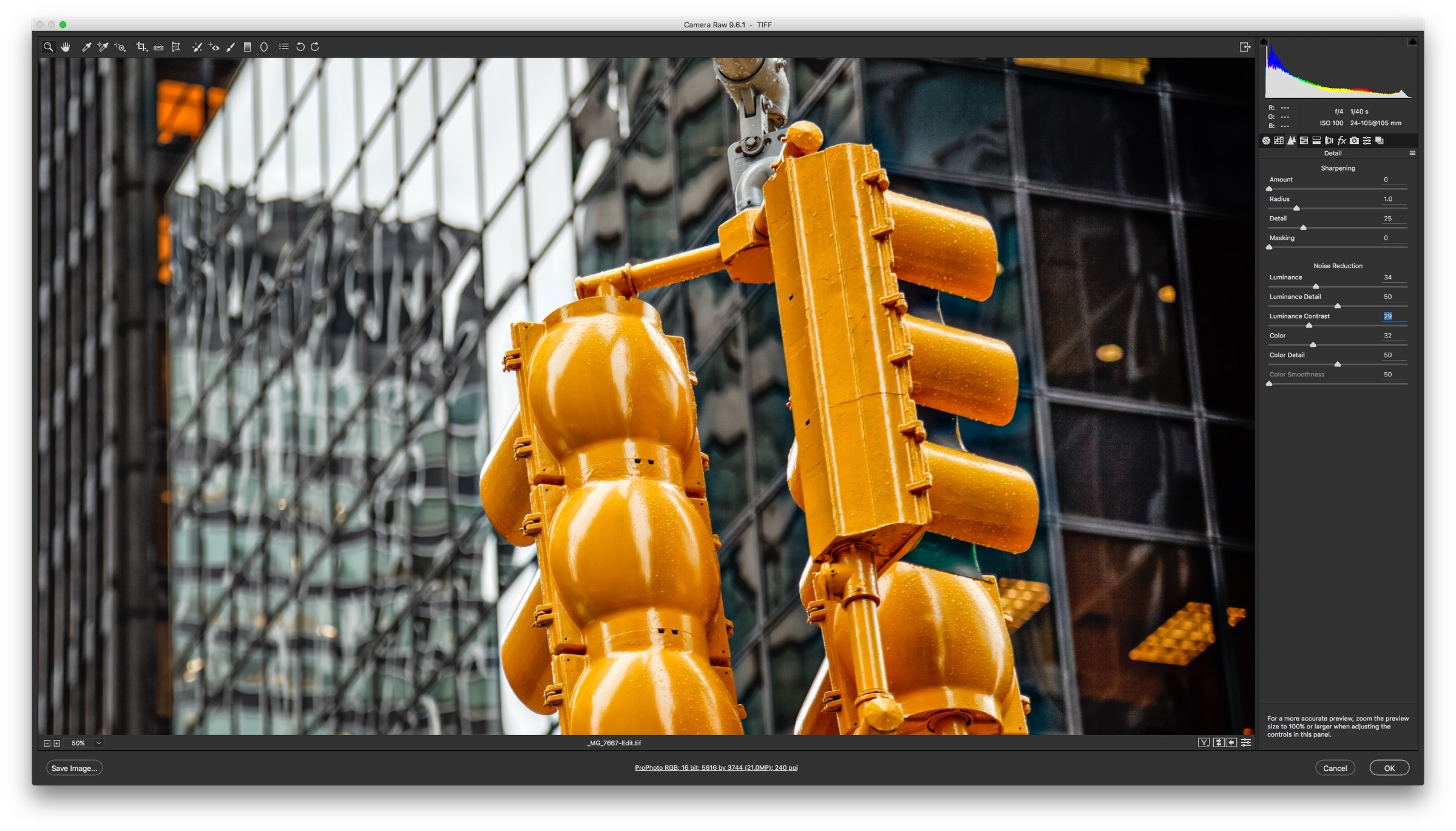 Camera Raw Controls -How to Reduce Shadow Noise using Lightroom and Photoshop
