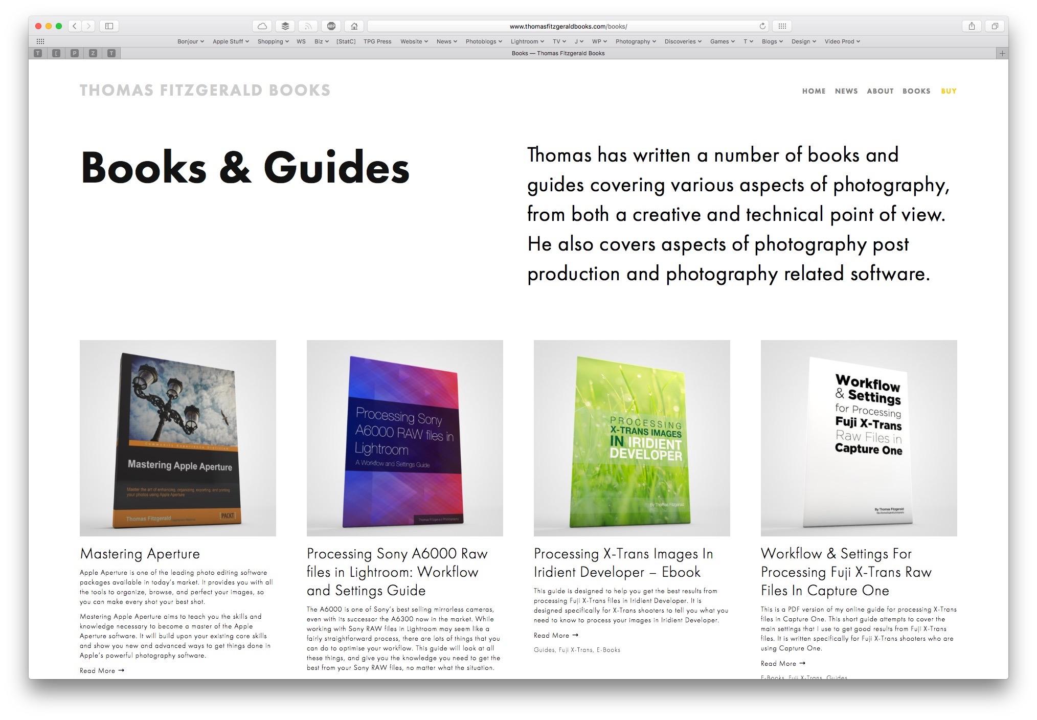 Thomas-Fitzgerald-Books