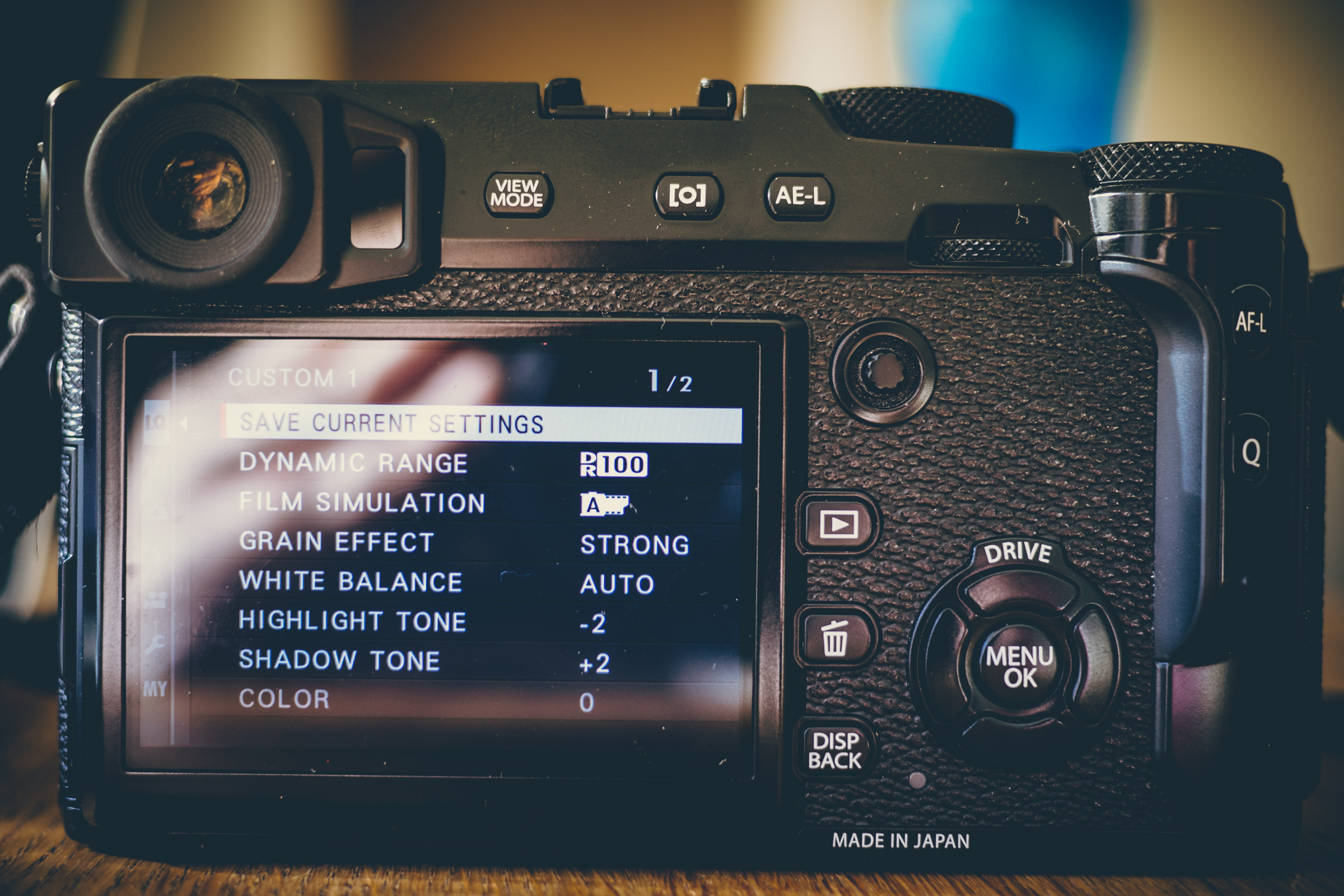 My Fuji X-Pro 2 Settings — Thomas Fitzgerald Photography